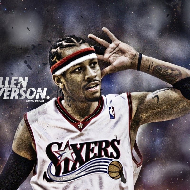 10 New Allen Iverson Wallpaper Hd FULL HD 1080p For PC Desktop 2018 free download 26 allen iverson wallpapers hd free download 800x800