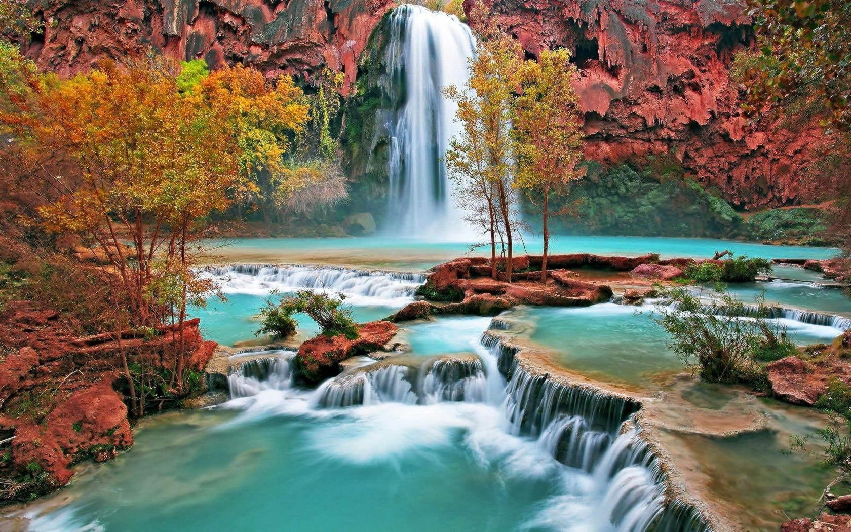 2694 waterfall hd wallpapers | background images - wallpaper abyss