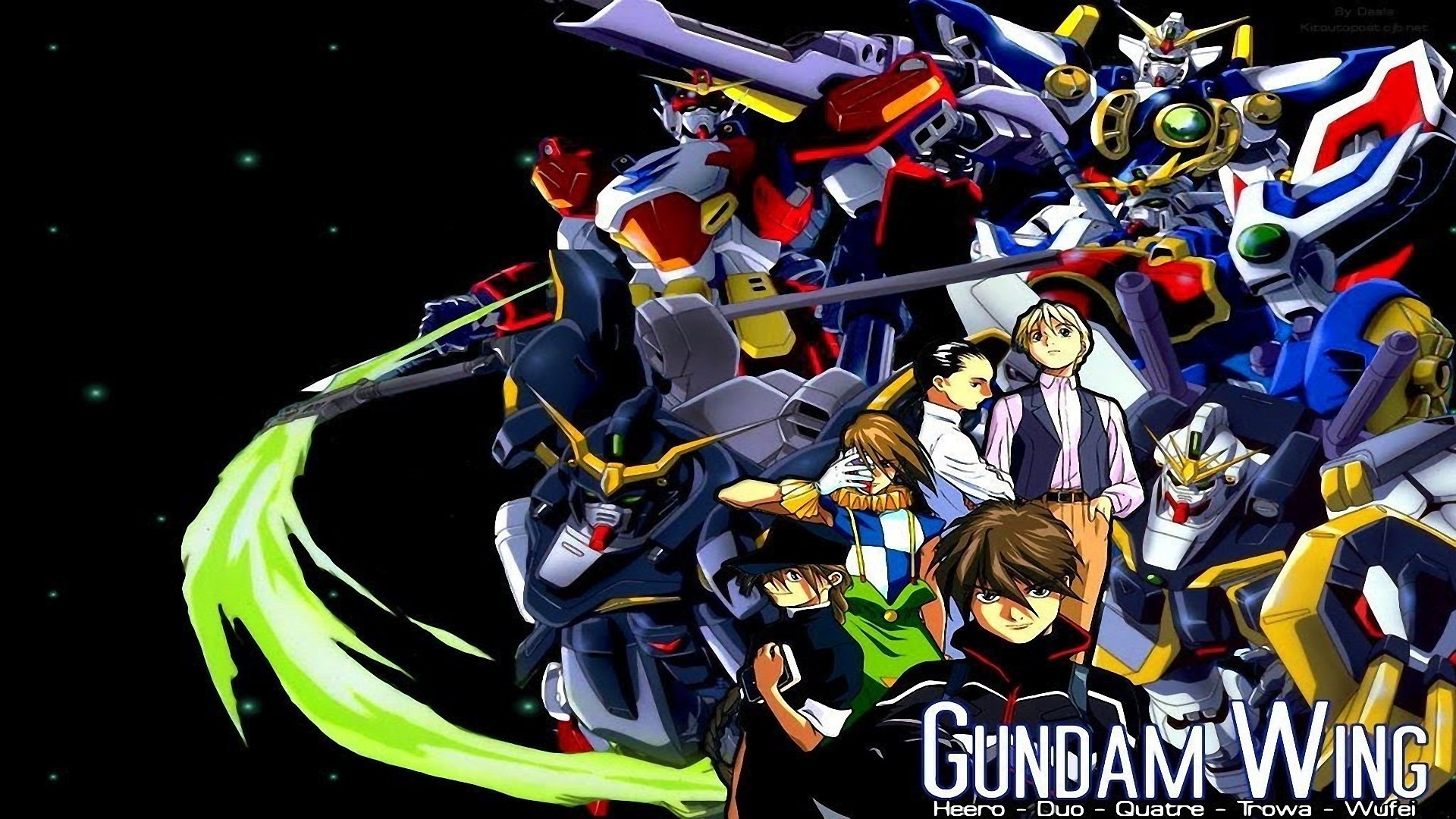 3 gundam wing: endless duel hd wallpapers | background images