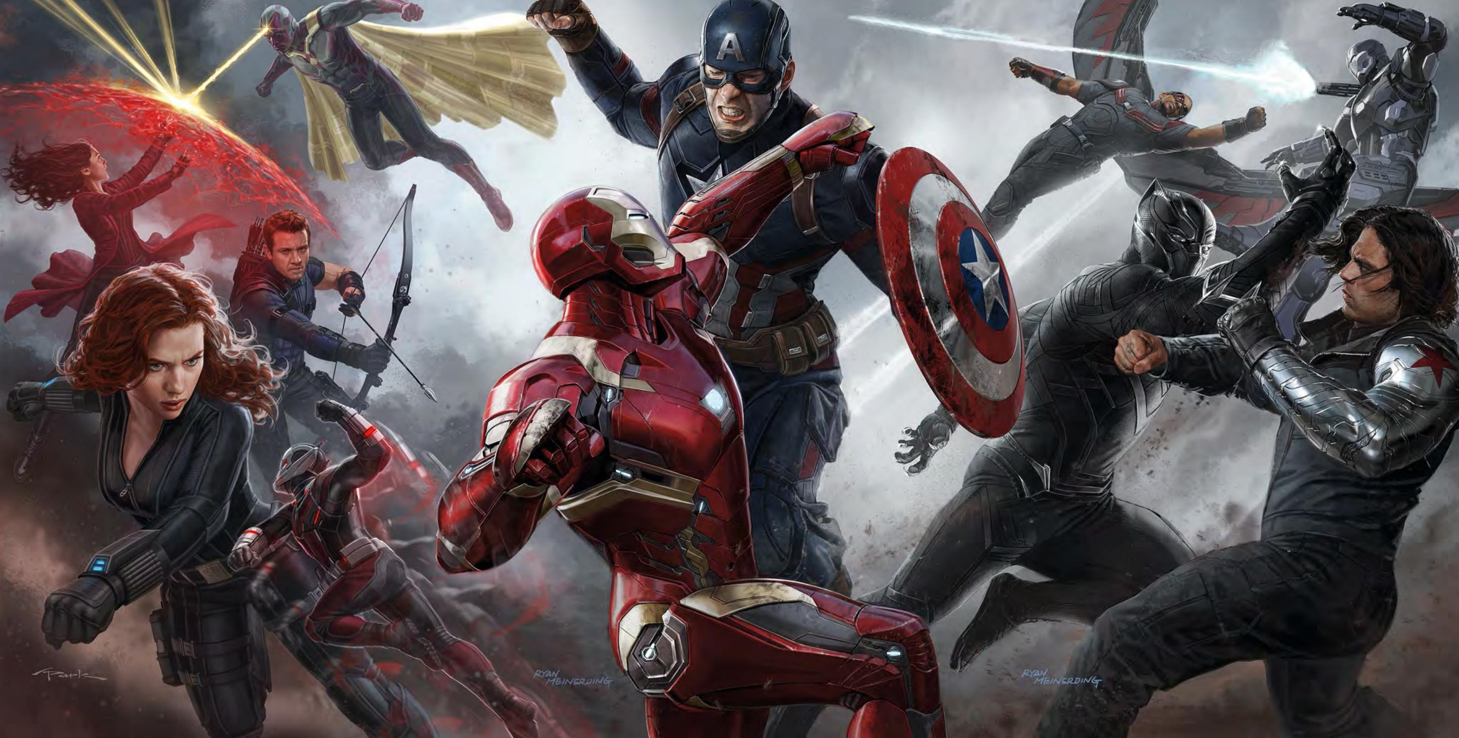 30 captain america: civil war fonds d'écran hd | arrière-plans