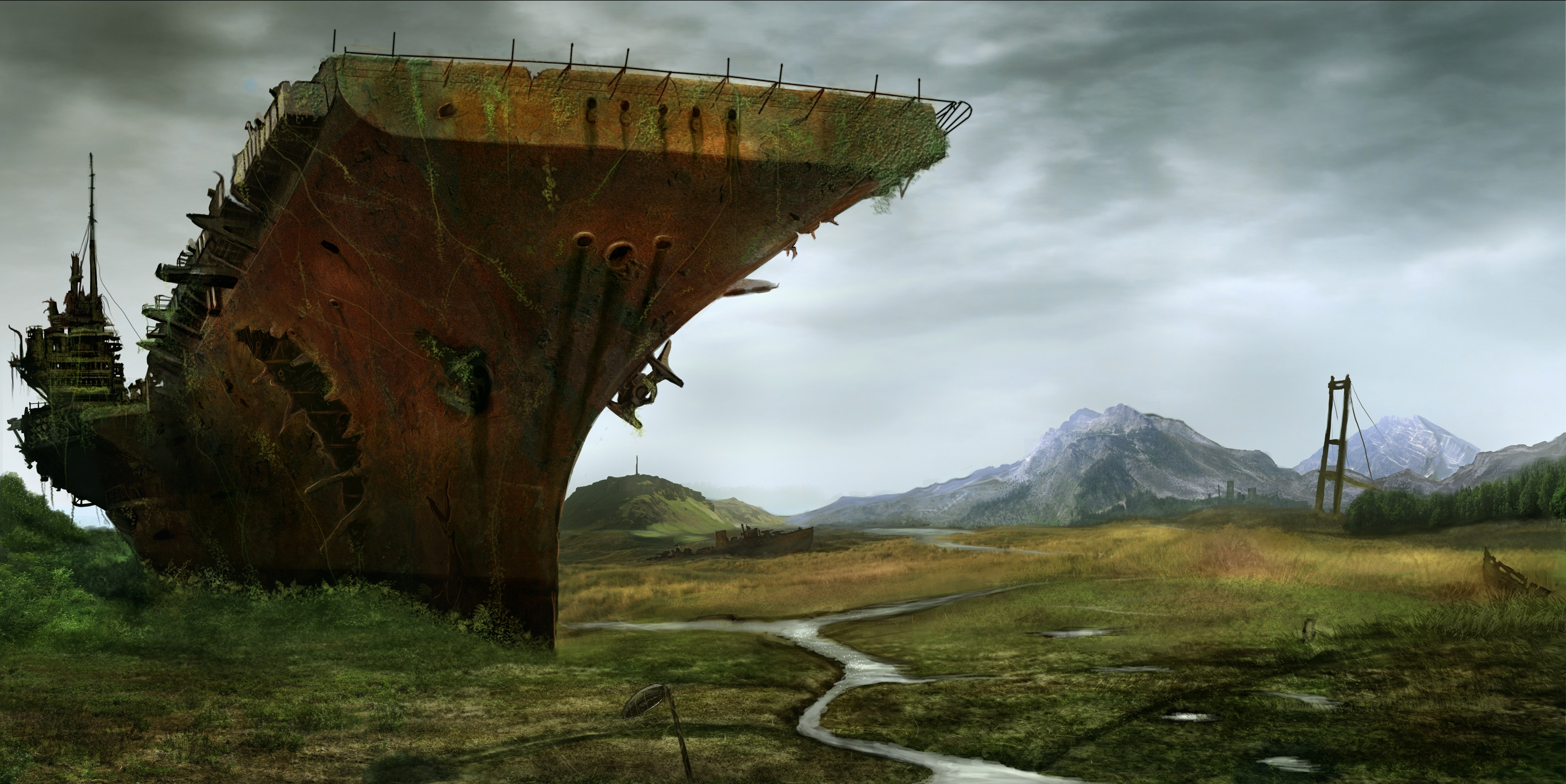 304 post apocalyptic hd wallpapers | background images - wallpaper abyss