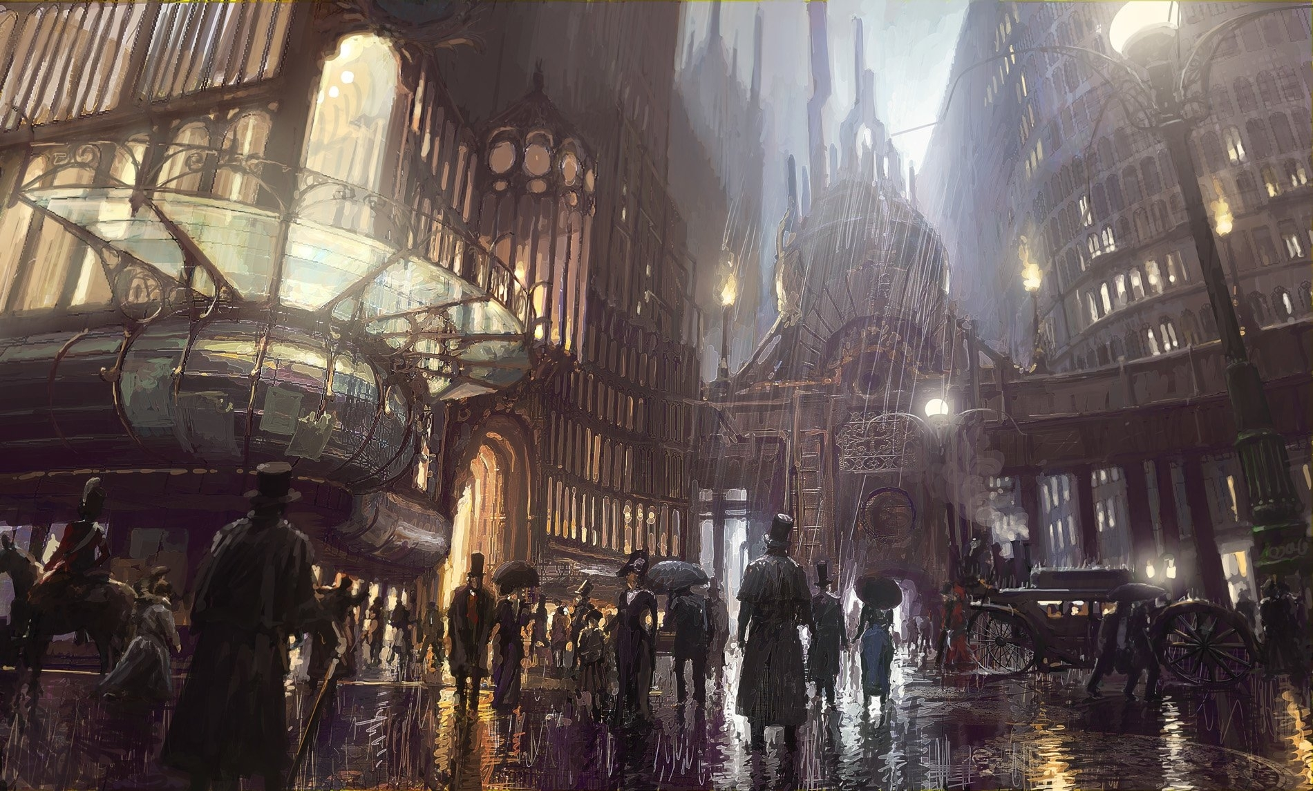 318 steampunk hd wallpapers | background images - wallpaper abyss