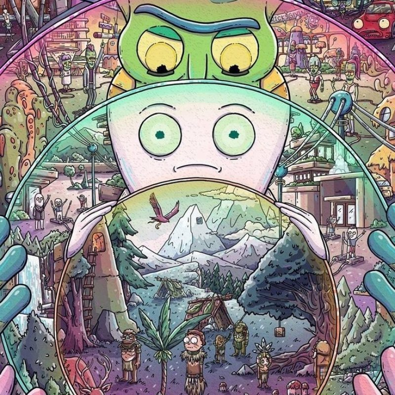 10 Top Trippy Rick And Morty Wallpaper FULL HD 1920×1080 For PC Background 2018 free download 33 best rick and morty images on pinterest animated cartoons 800x800