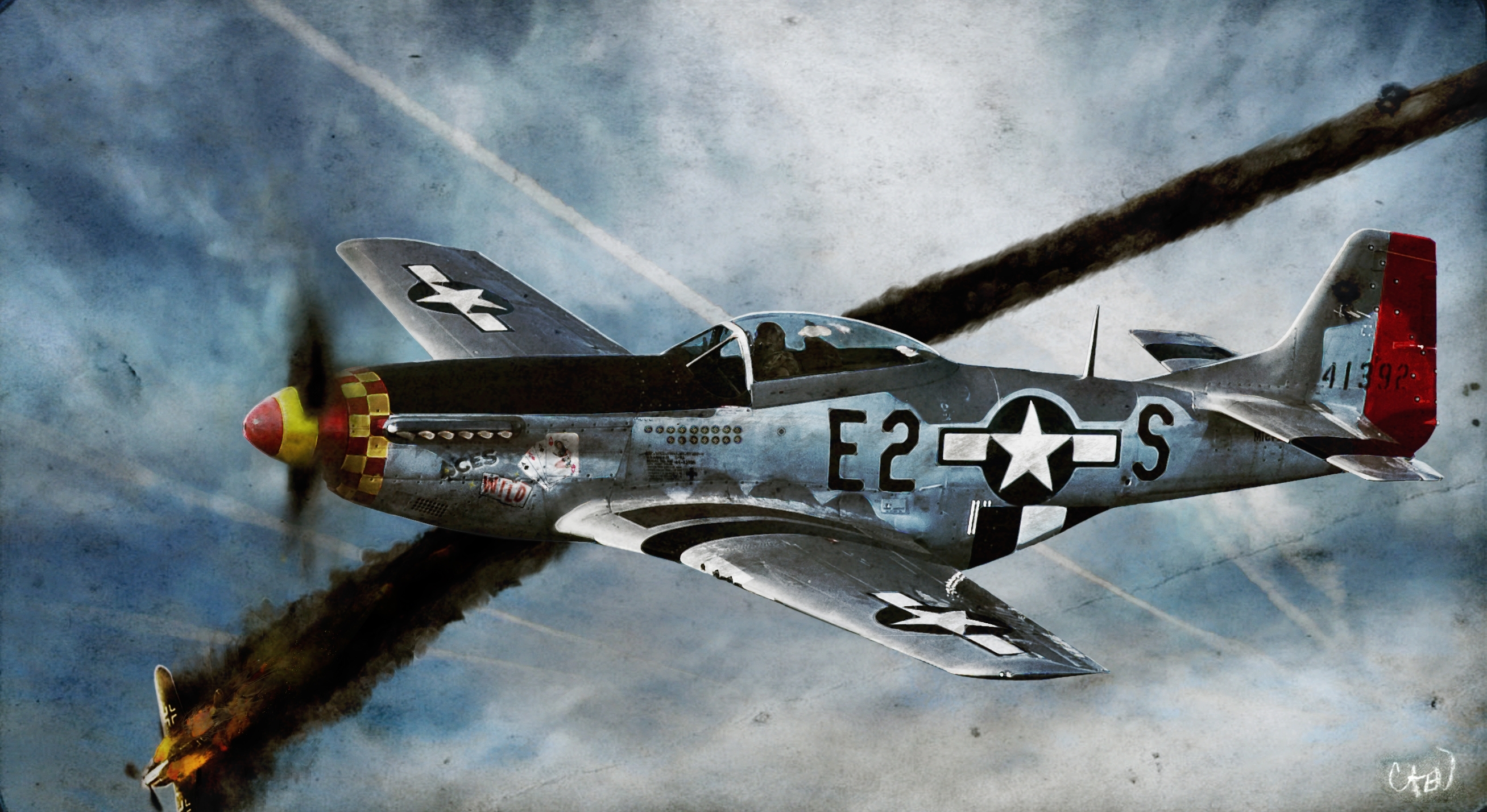 33 north american p-51 mustang hd wallpapers | background images