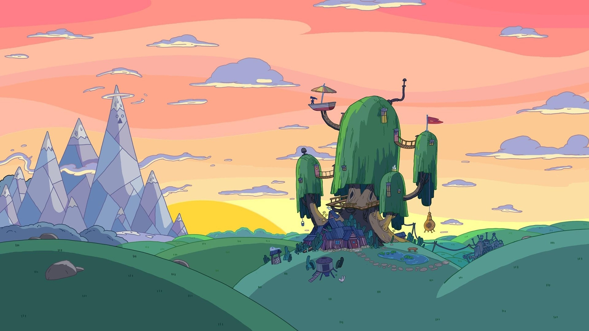 335 adventure time hd wallpapers | background images - wallpaper abyss