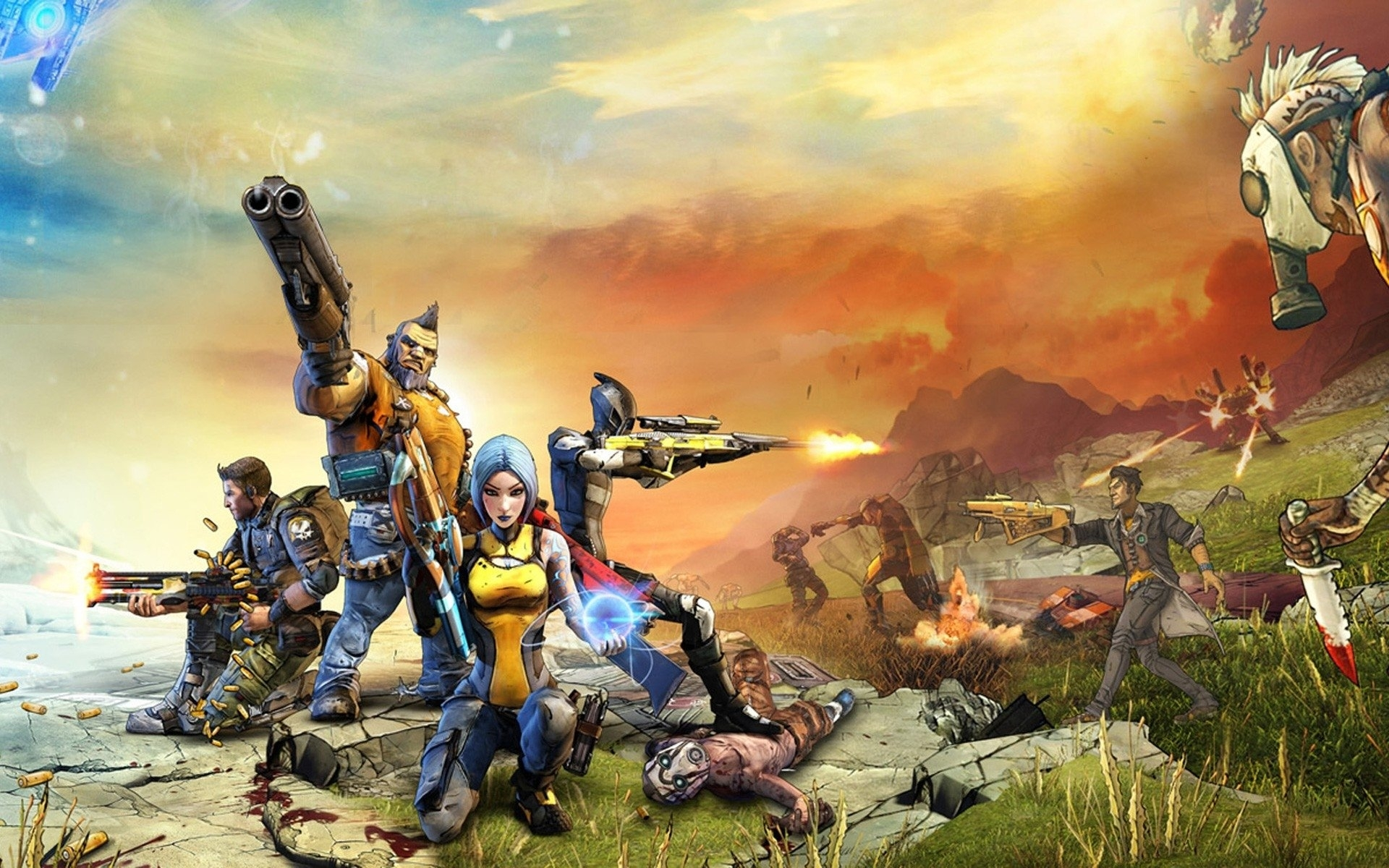 340 borderlands hd wallpapers | background images - wallpaper abyss