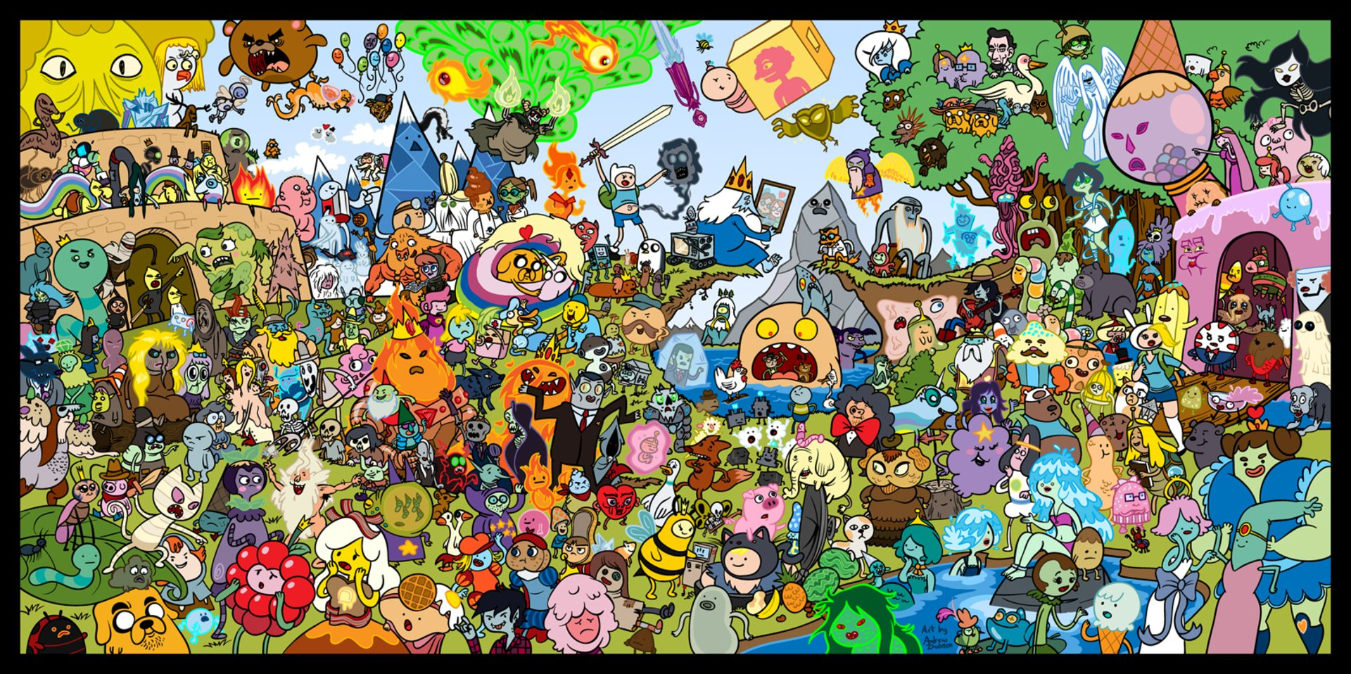 341 adventure time hd wallpapers | background images - wallpaper abyss