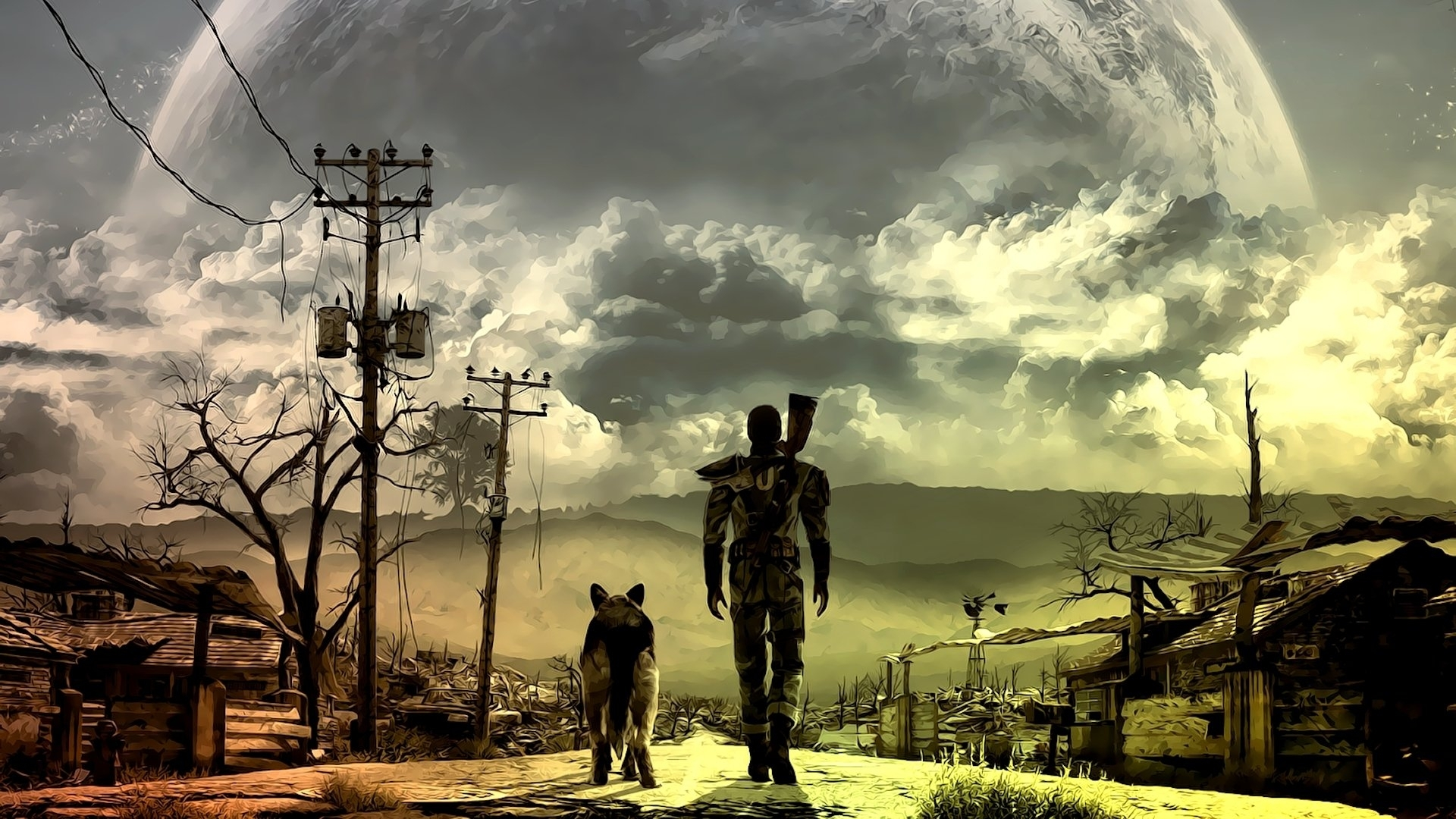 36 fallout 3 hd wallpapers | background images - wallpaper abyss