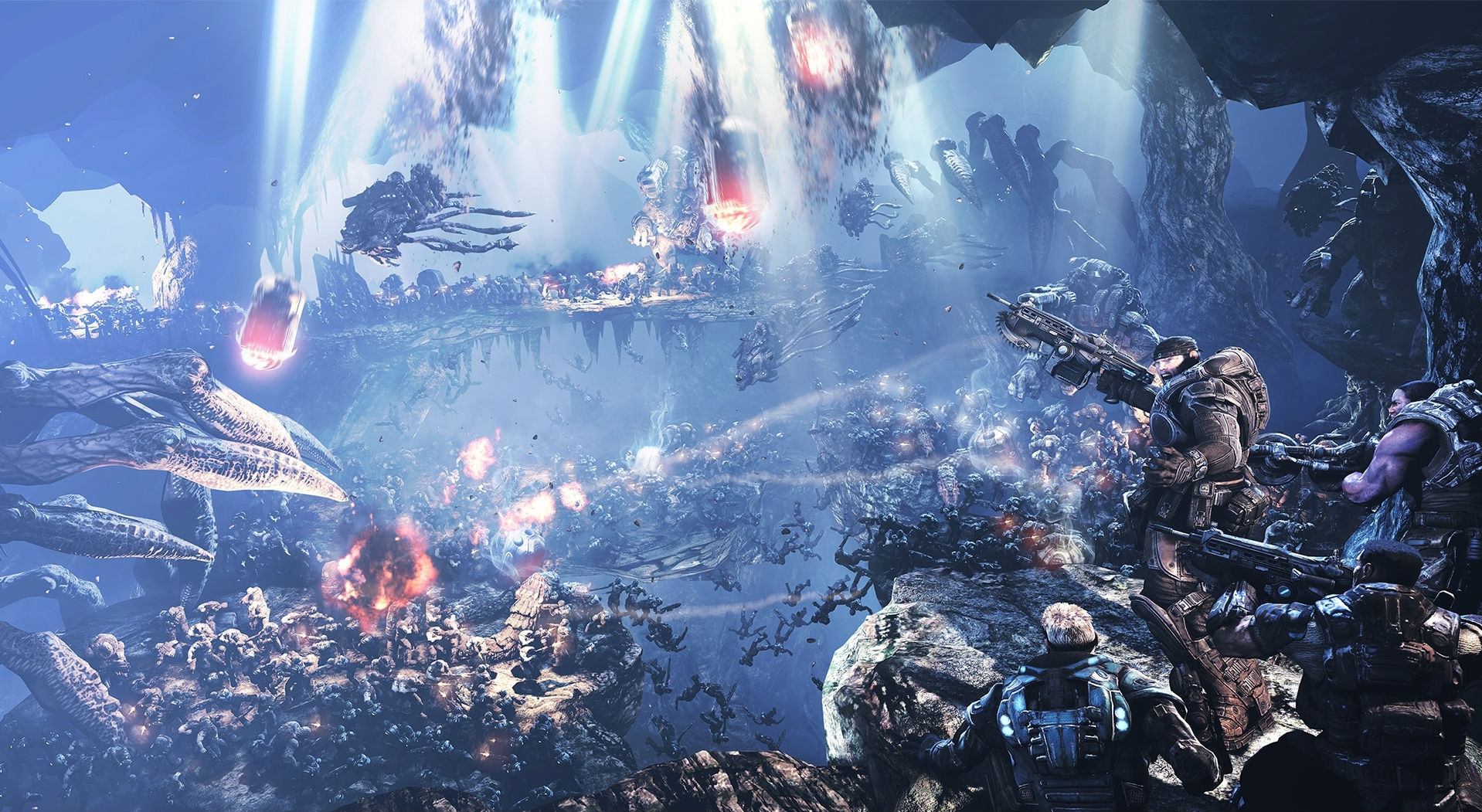 36 gears of war 2 hd wallpapers | background images - wallpaper abyss