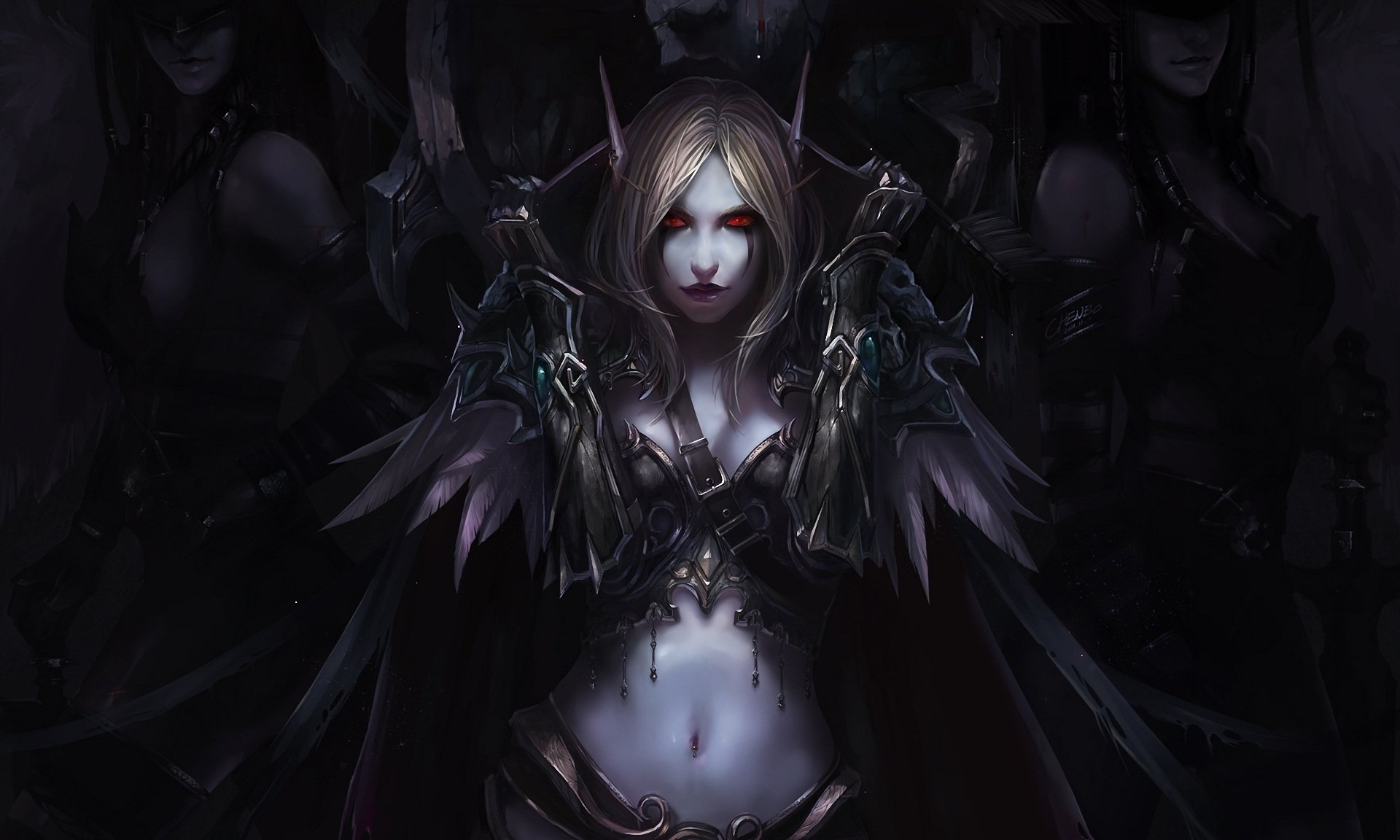 38 sylvanas windrunner hd wallpapers | background images - wallpaper