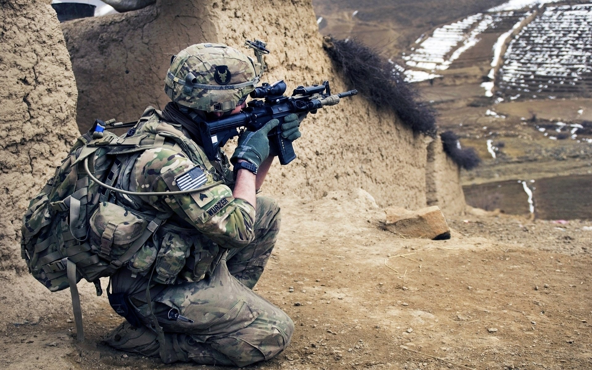 38 u.s. army infantry hd wallpapers | background images - wallpaper