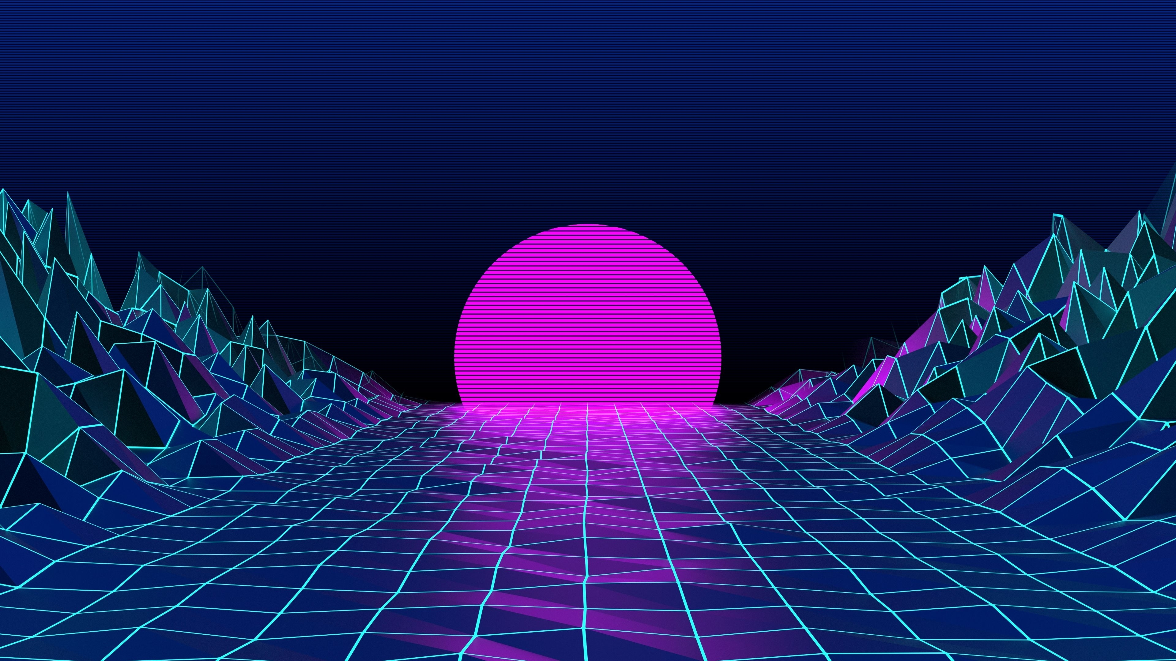 3840x2160] [1920x1080] retro 80's wallpaper /r/wallpapers | reddit