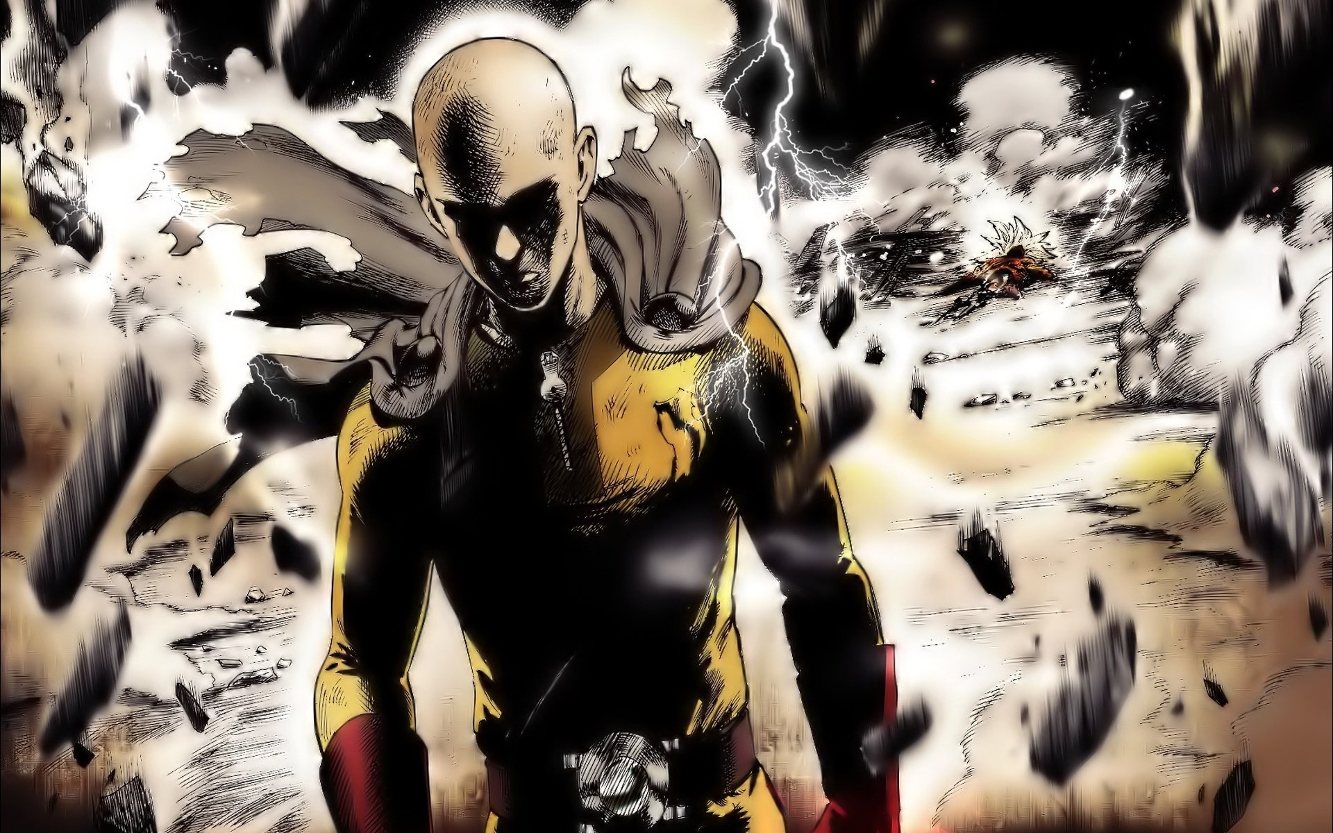 386 one-punch man hd wallpapers | background images - wallpaper abyss