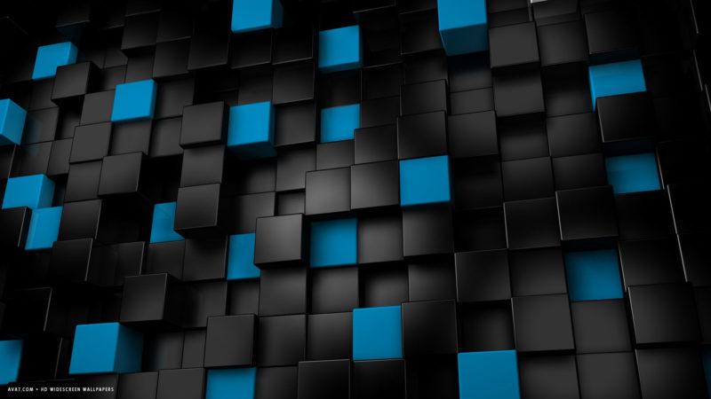10 Most Popular Black And Blue Hd FULL HD 1920×1080 For PC Desktop 2018 free download 3d abstract blocks cubes black blue hd widescreen wallpaper 3d 800x450
