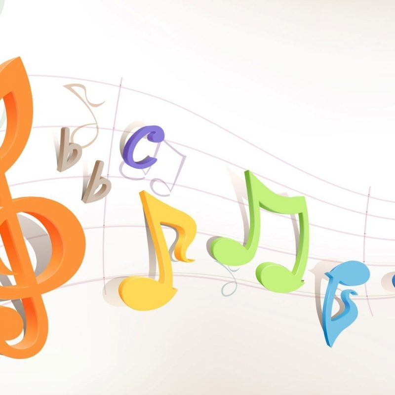 10 Most Popular 3D Colorful Music Notes Wallpaper FULL HD 1080p For PC Desktop 2018 free download 3d colorful music notes clipart panda free clipart images 800x800