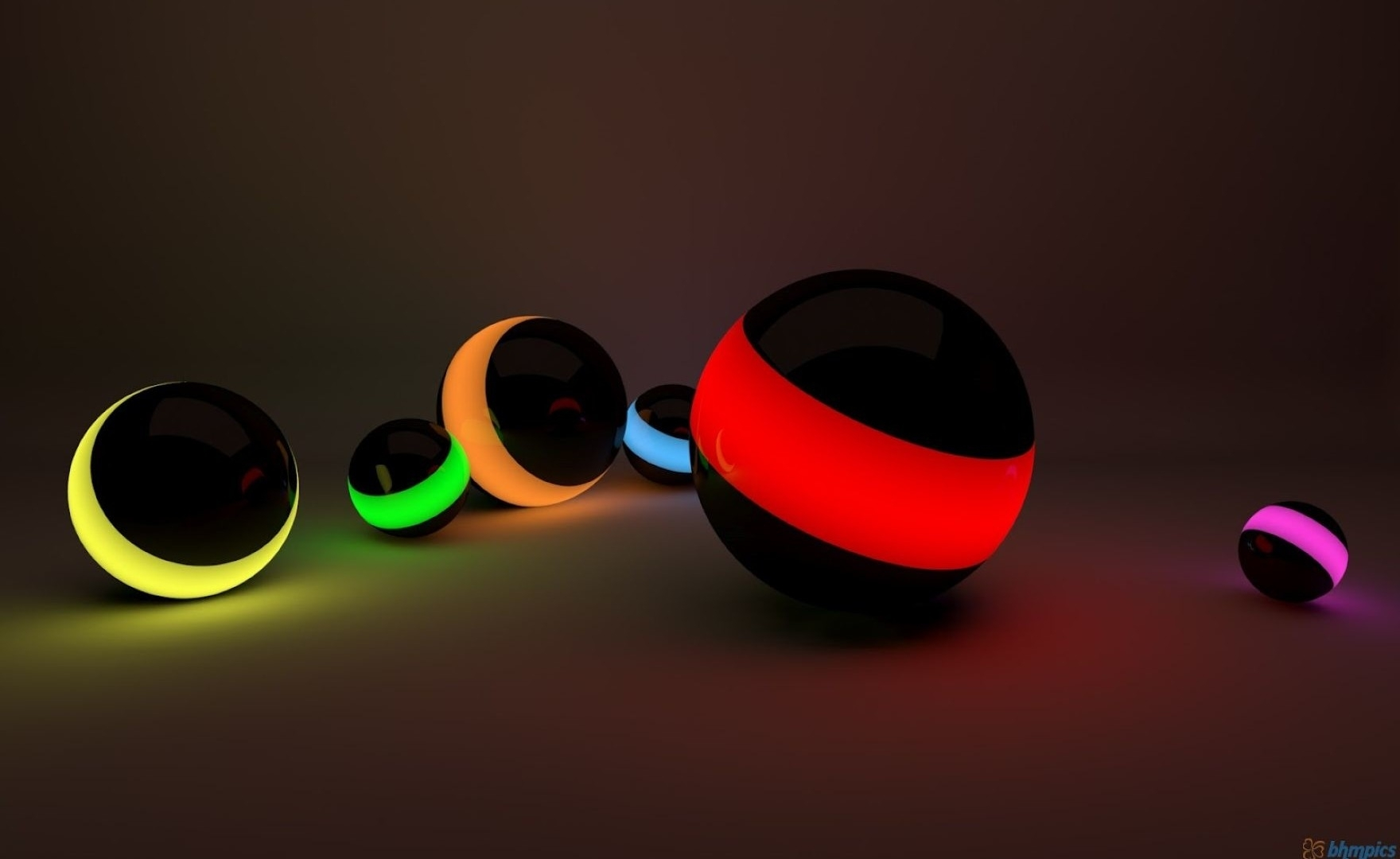 3d hd colorful ball for laptop free download wallpaper: desktop hd