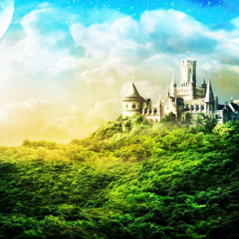10 Most Popular Fantasy Castle Landscape Wallpaper FULL HD 1920×1080 For PC Background 2018 free download 3d landscape great castle fantasy picture nr 61019 800x800