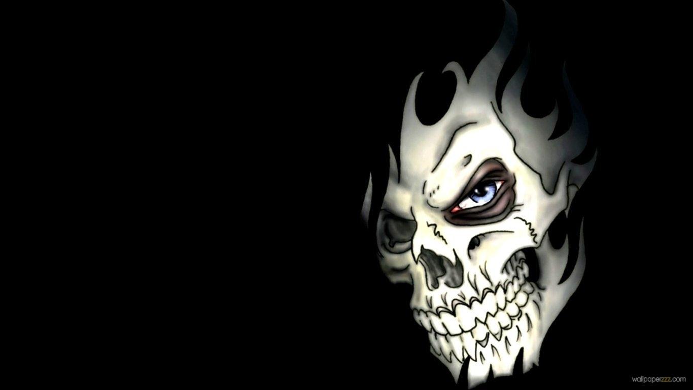 Title : 3d skulls desktop wallpaper screensaver | download nasty skull face. Dimension : 1366 x 768. File Type : JPG/JPEG