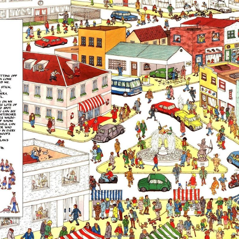 10 Top Where's Waldo Wallpapers For Desktop FULL HD 1920×1080 For PC Desktop 2018 free download 4 wheres waldo hd wallpapers background images wallpaper abyss 1 800x800
