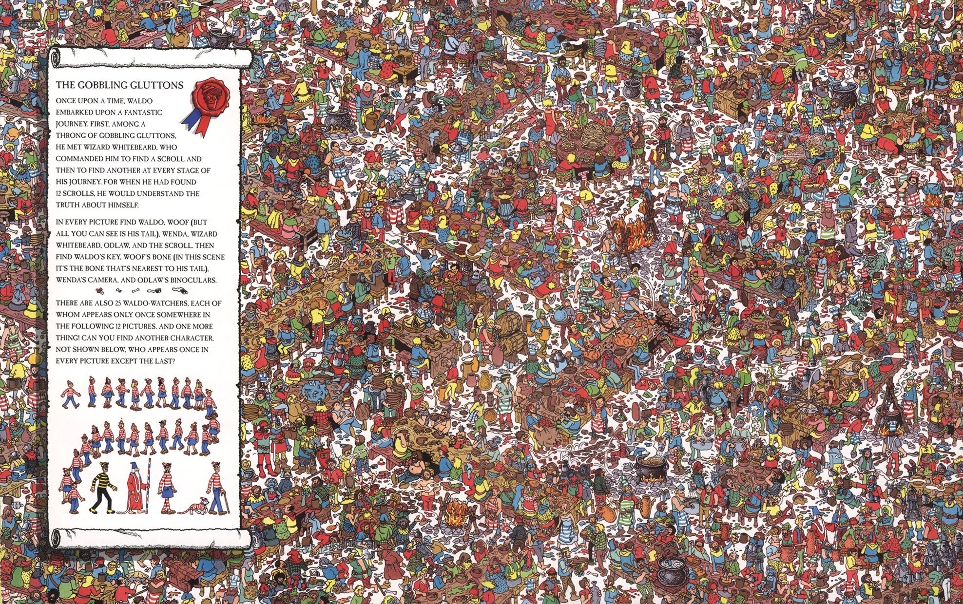 4 where's waldo? hd wallpapers | background images - wallpaper abyss