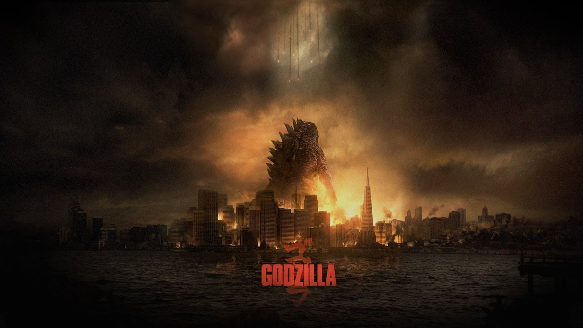 42 godzilla (2014) hd wallpapers | background images - wallpaper abyss