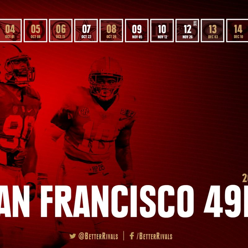 10 New 49Ers 2017 Schedule Wallpaper FULL HD 1920×1080 For PC Background 2018 free download 49ers 2017 schedule wallpapers for iphone android desktop niners 2 800x800