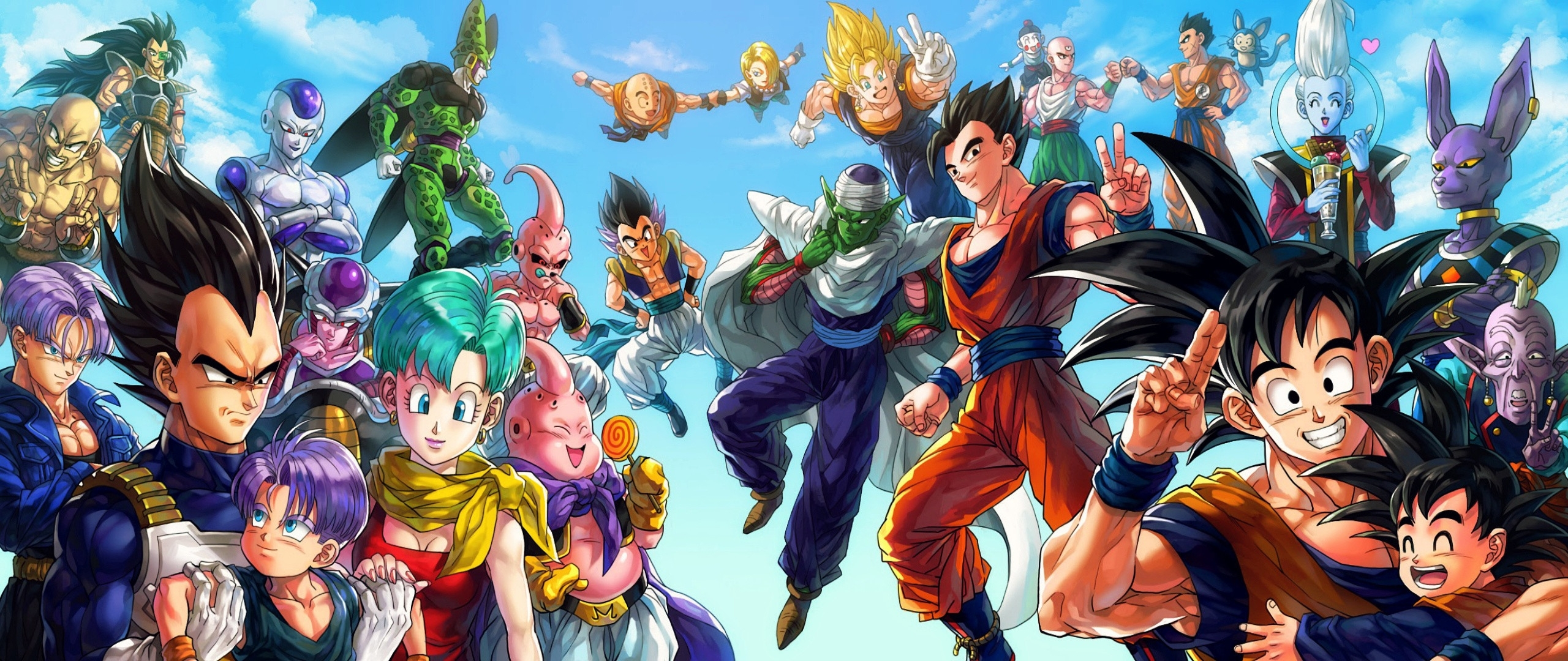 10 best dbz dual monitor wallpaper full hd 1920 1080 for - Images dragon ball z ...