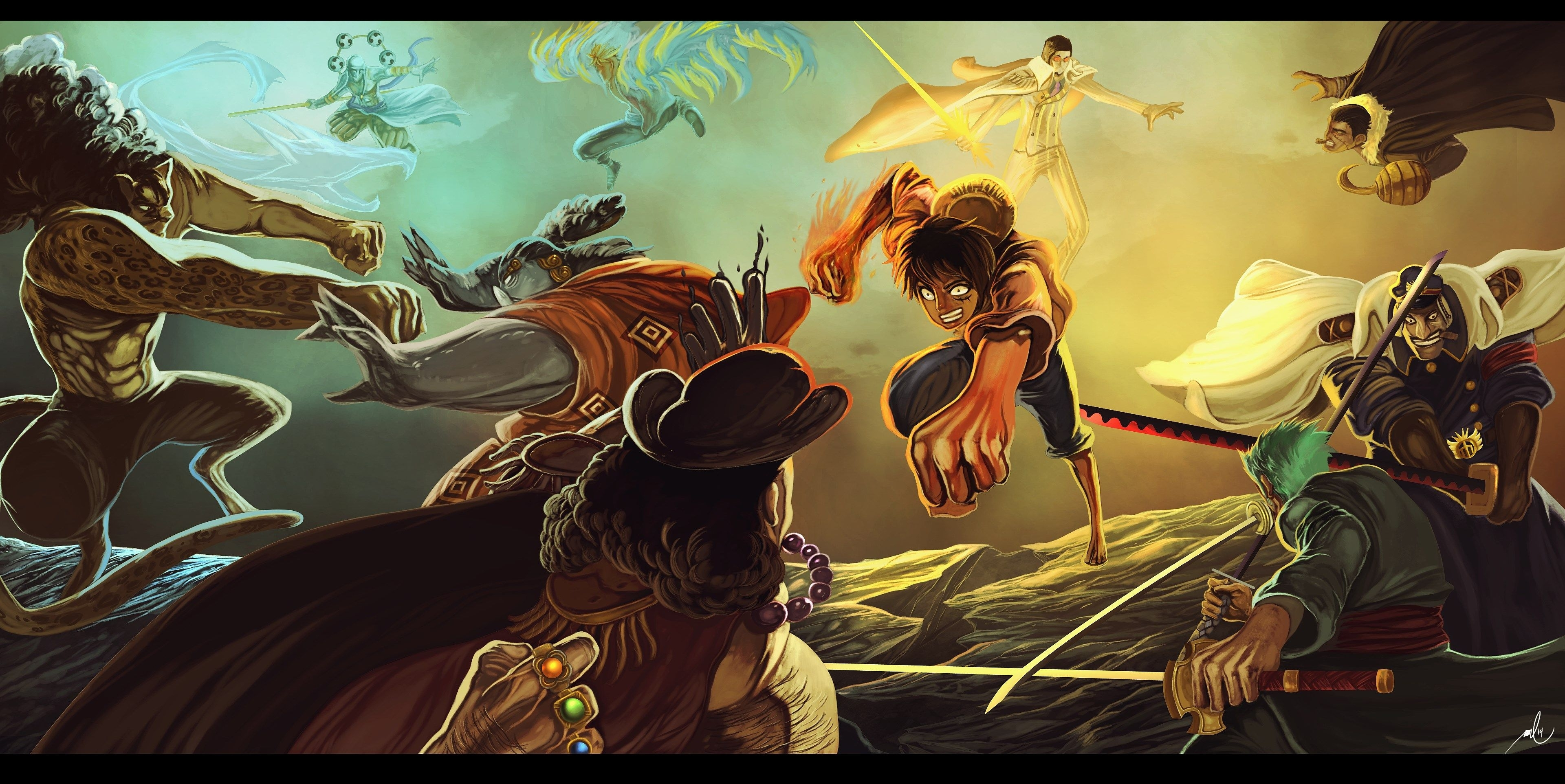 4k one piece hd wallpaper (3841x1925) | gogolmogol | pinterest