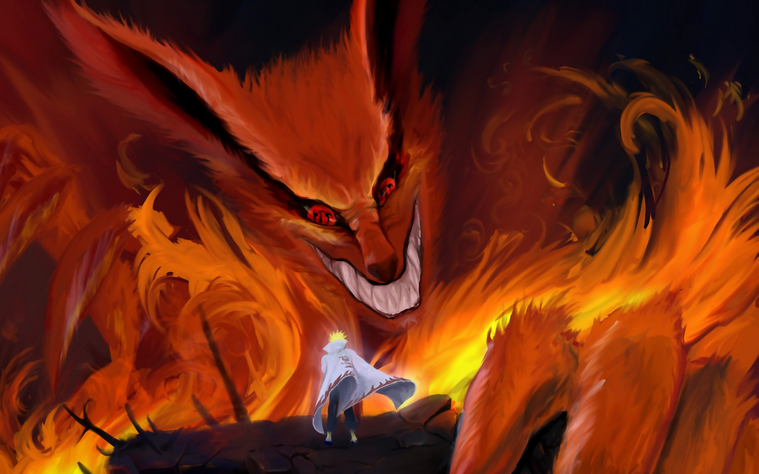 50 kurama (naruto) hd wallpapers | background images - wallpaper abyss