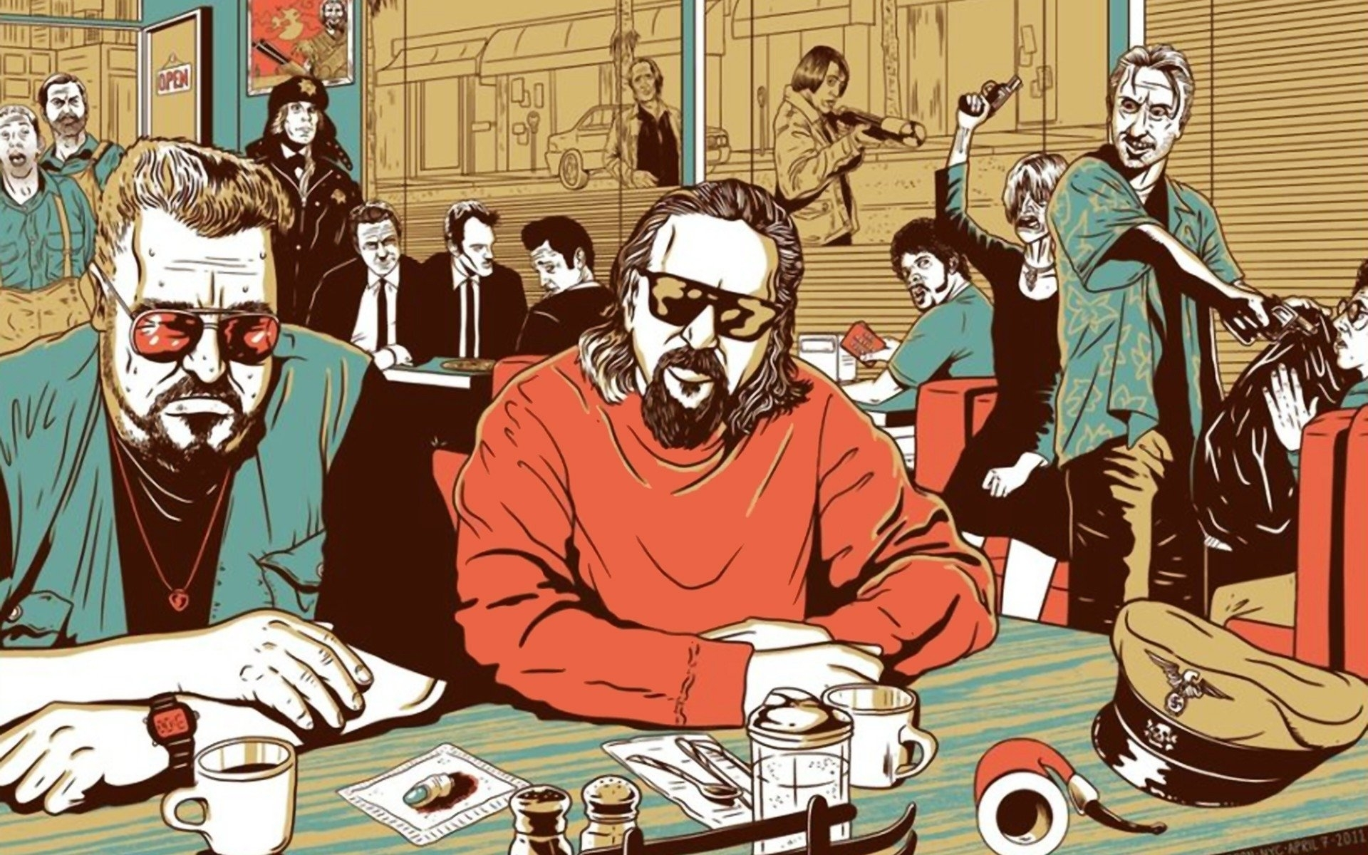 50 the big lebowski hd wallpapers | background images - wallpaper abyss