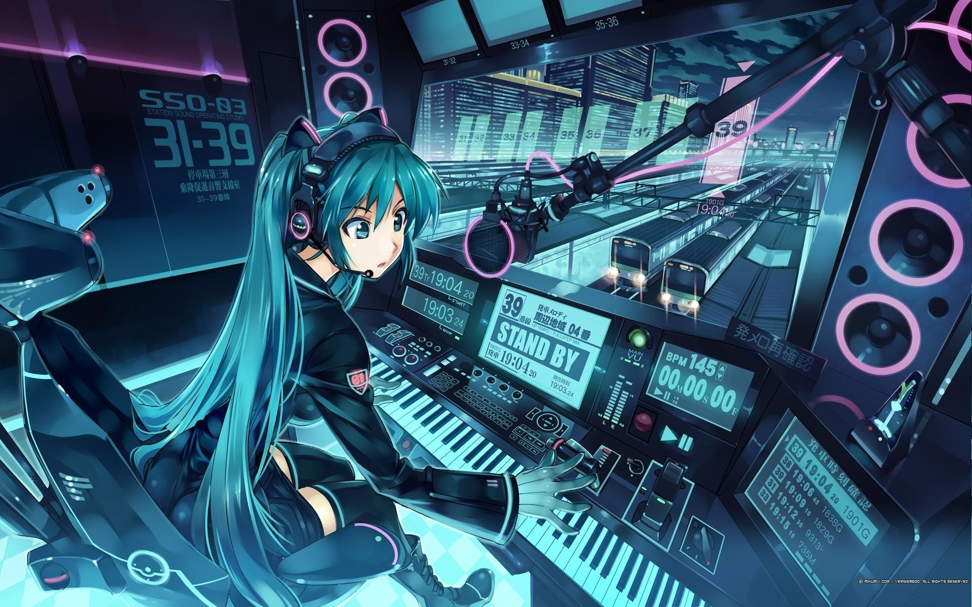 5395 hatsune miku hd wallpapers | background images - wallpaper abyss