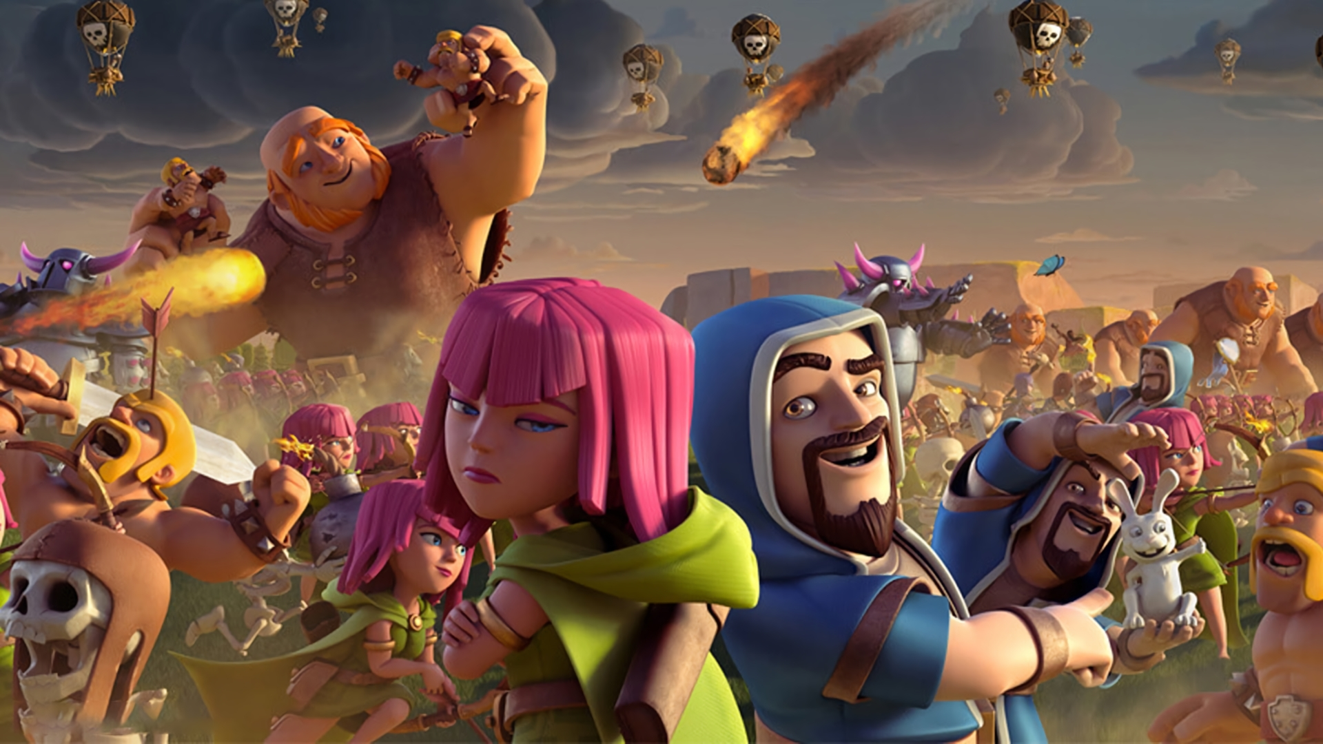 55 clash of clans hd wallpapers | background images - wallpaper abyss