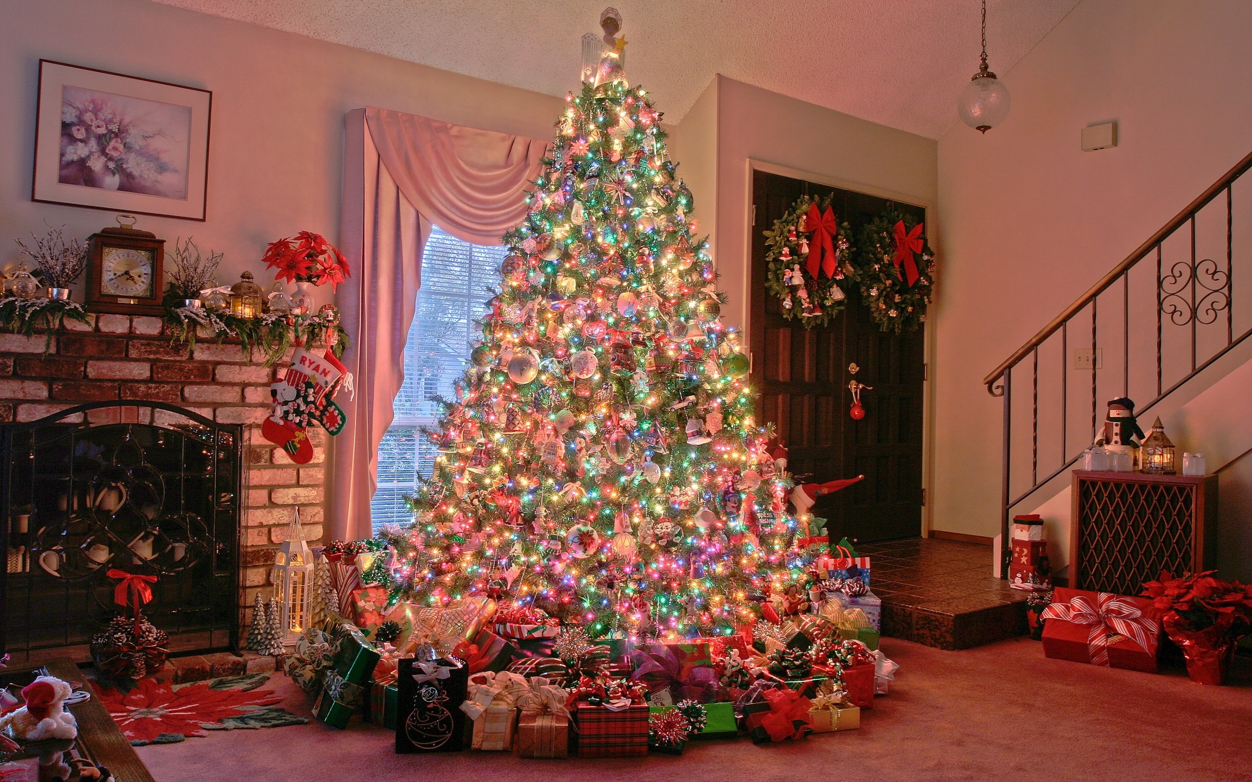 10 New Christmas Tree Wallpaper Hd Full Hd 1080p For Pc Background