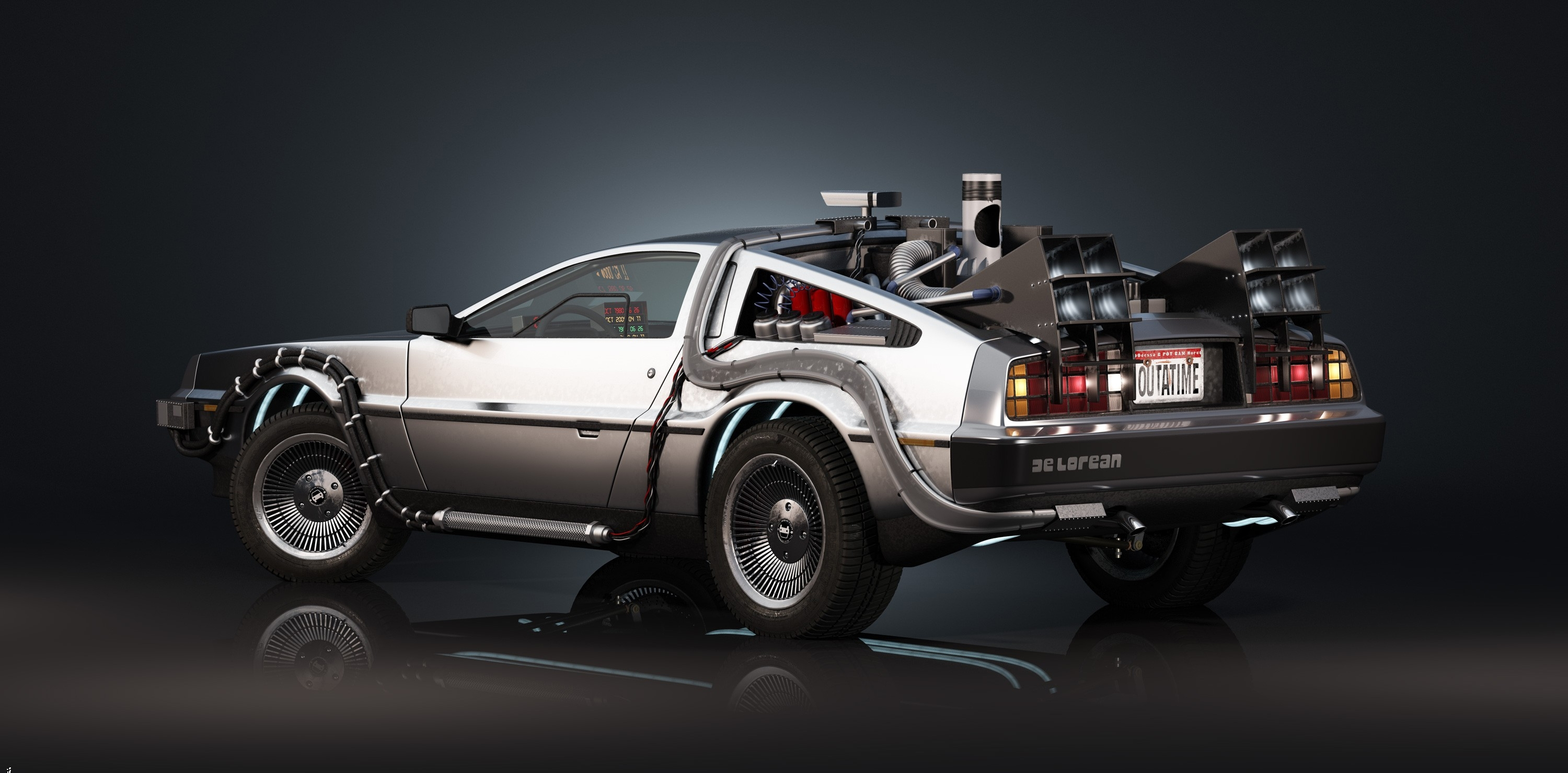 63 back to the future hd wallpapers | background images - wallpaper