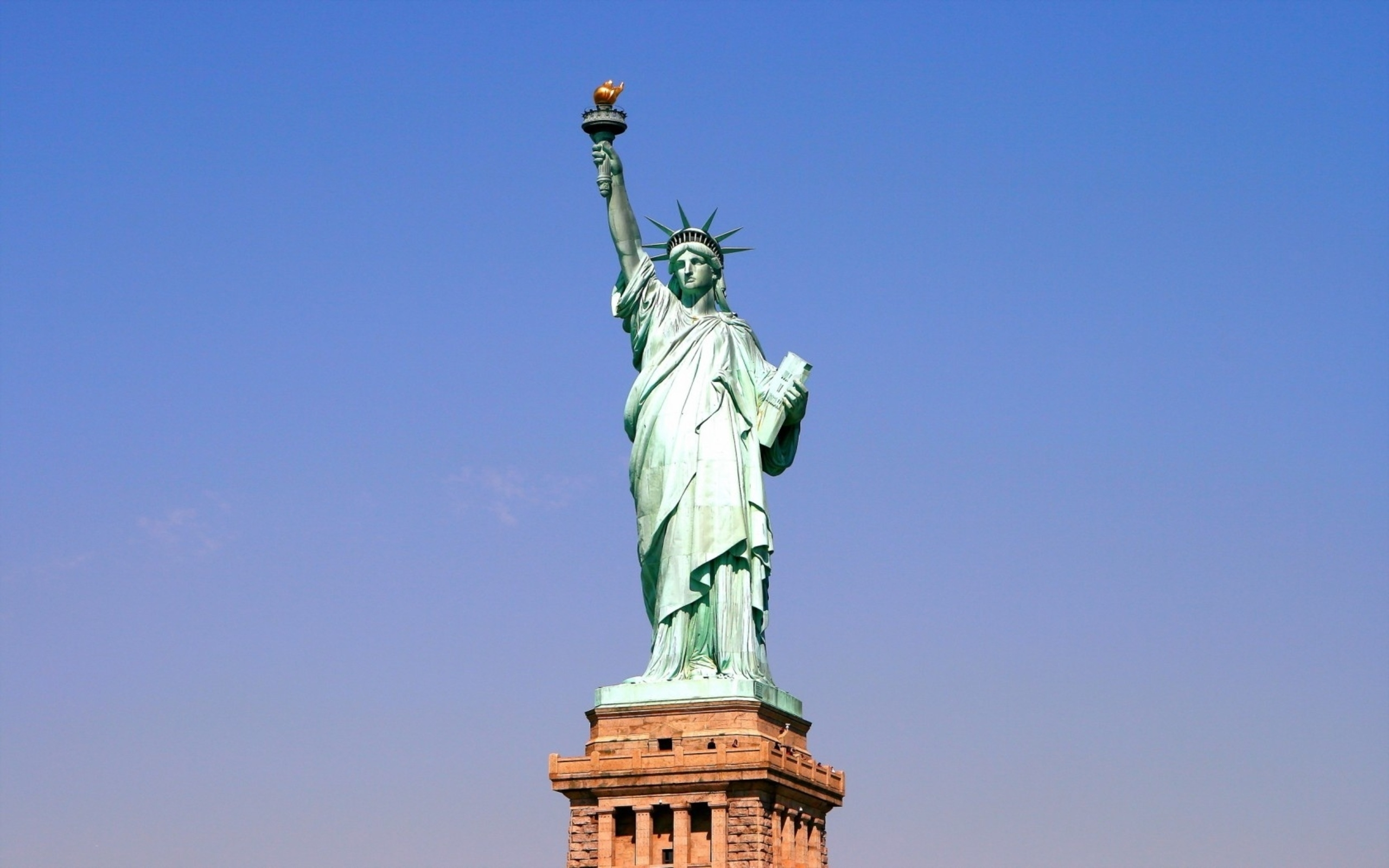 64 statue of liberty hd wallpapers | background images - wallpaper abyss