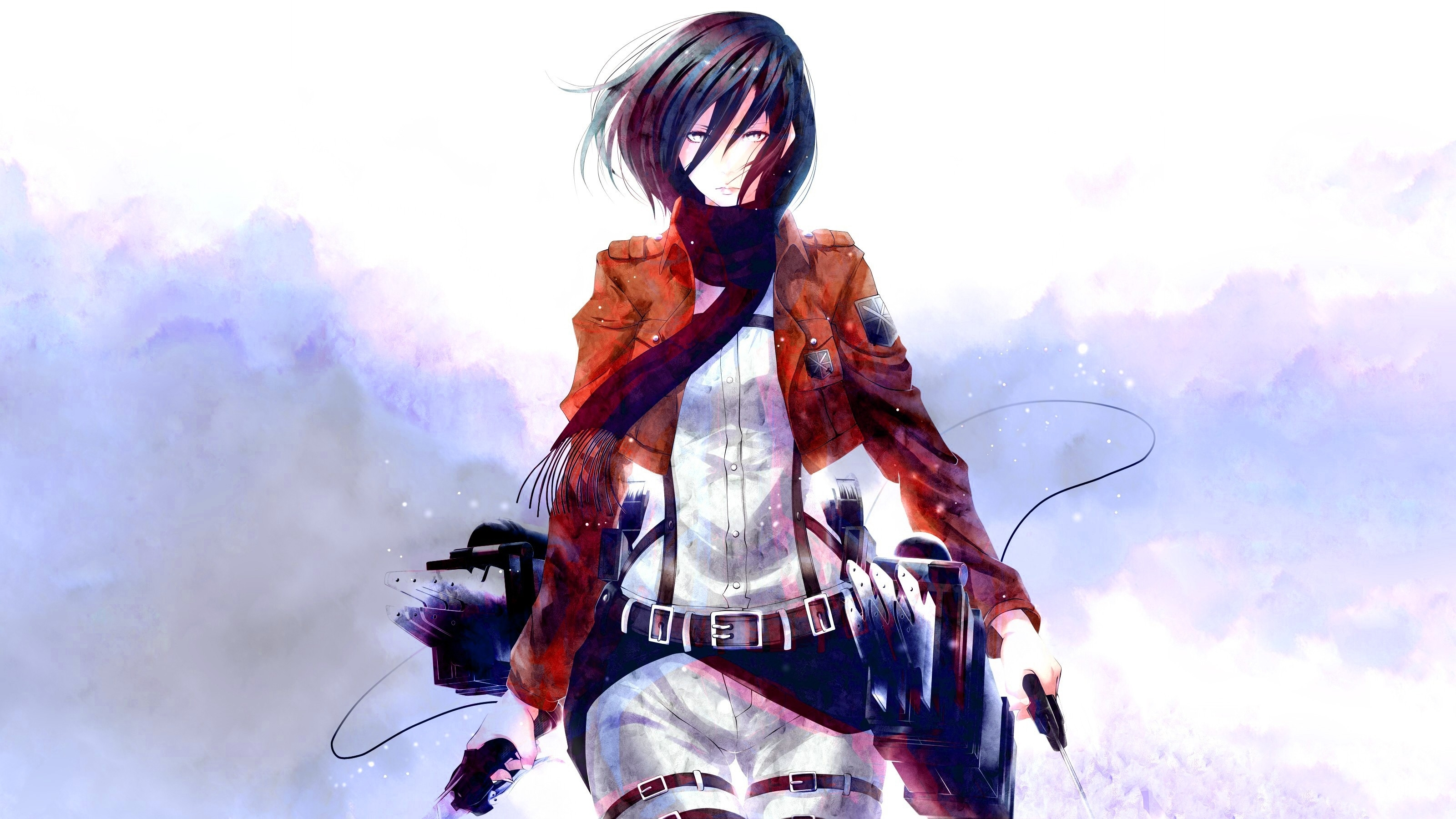 661 mikasa ackerman hd wallpapers | background images - wallpaper abyss
