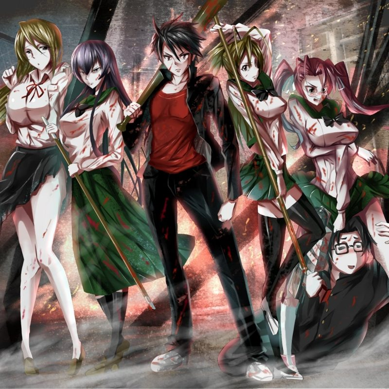10 New Highschool Of The Dead Wallpaper FULL HD 1080p For PC Background 2018 free download 69 highschool of the dead hd wallpapers background images 1 800x800