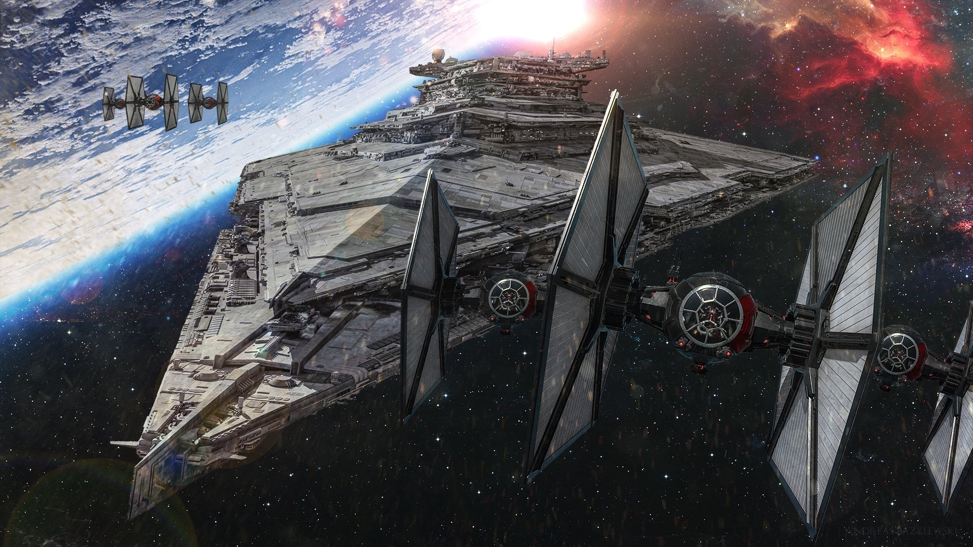 69 star destroyer hd wallpapers | background images - wallpaper abyss