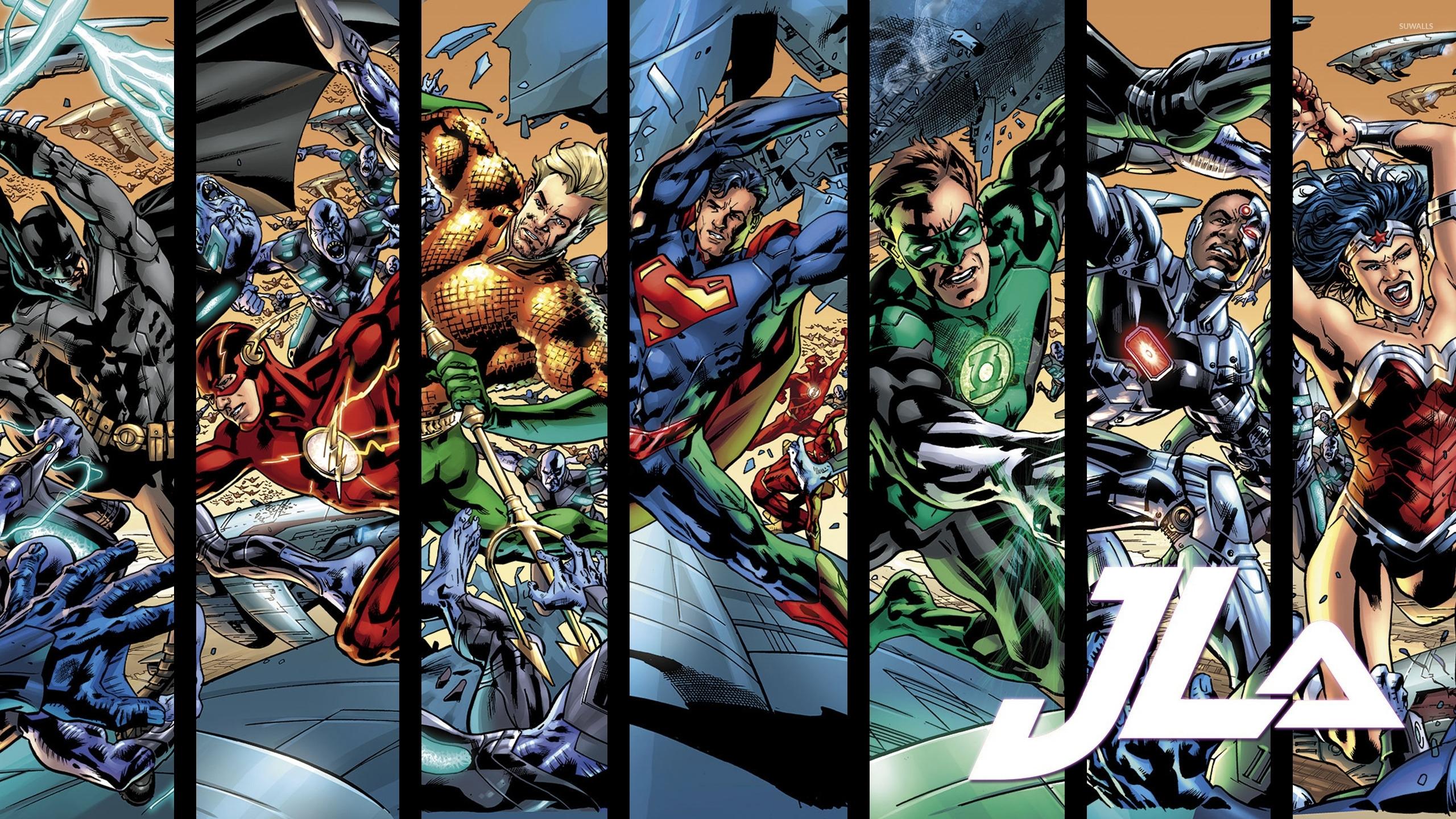 Title 696 Justice League New 52 Wallpaper Dimension 2560 X 1440 File Type JPG JPEG