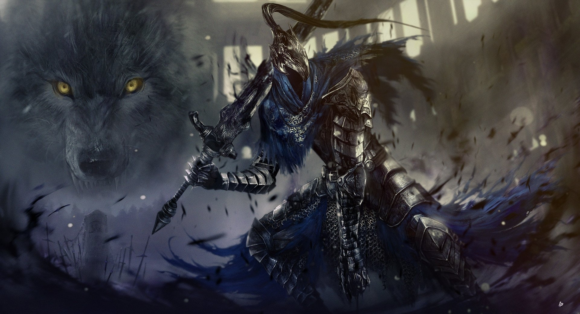 7 artorias the abysswalker hd wallpapers | background images