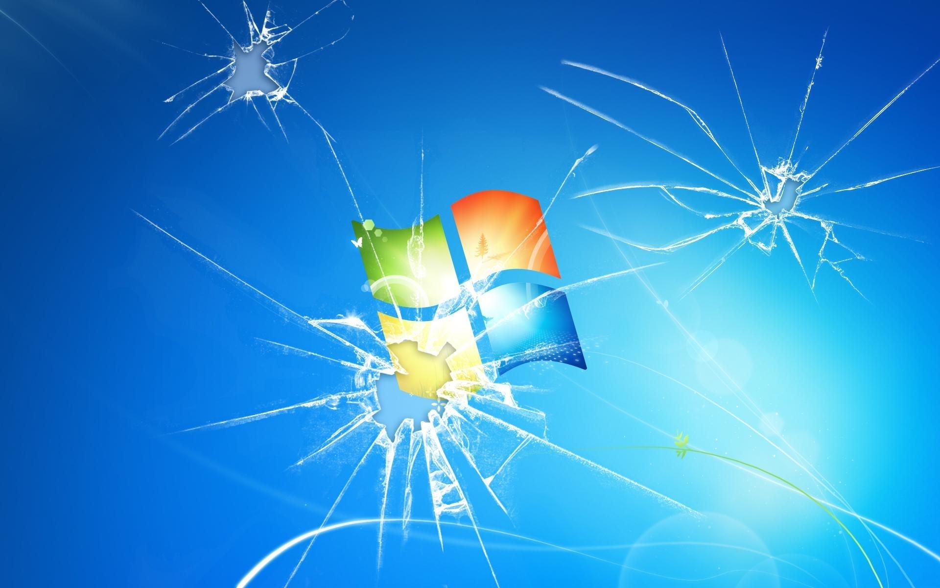 10 Latest Windows Cracked Screen Wallpaper FULL HD 1080p For