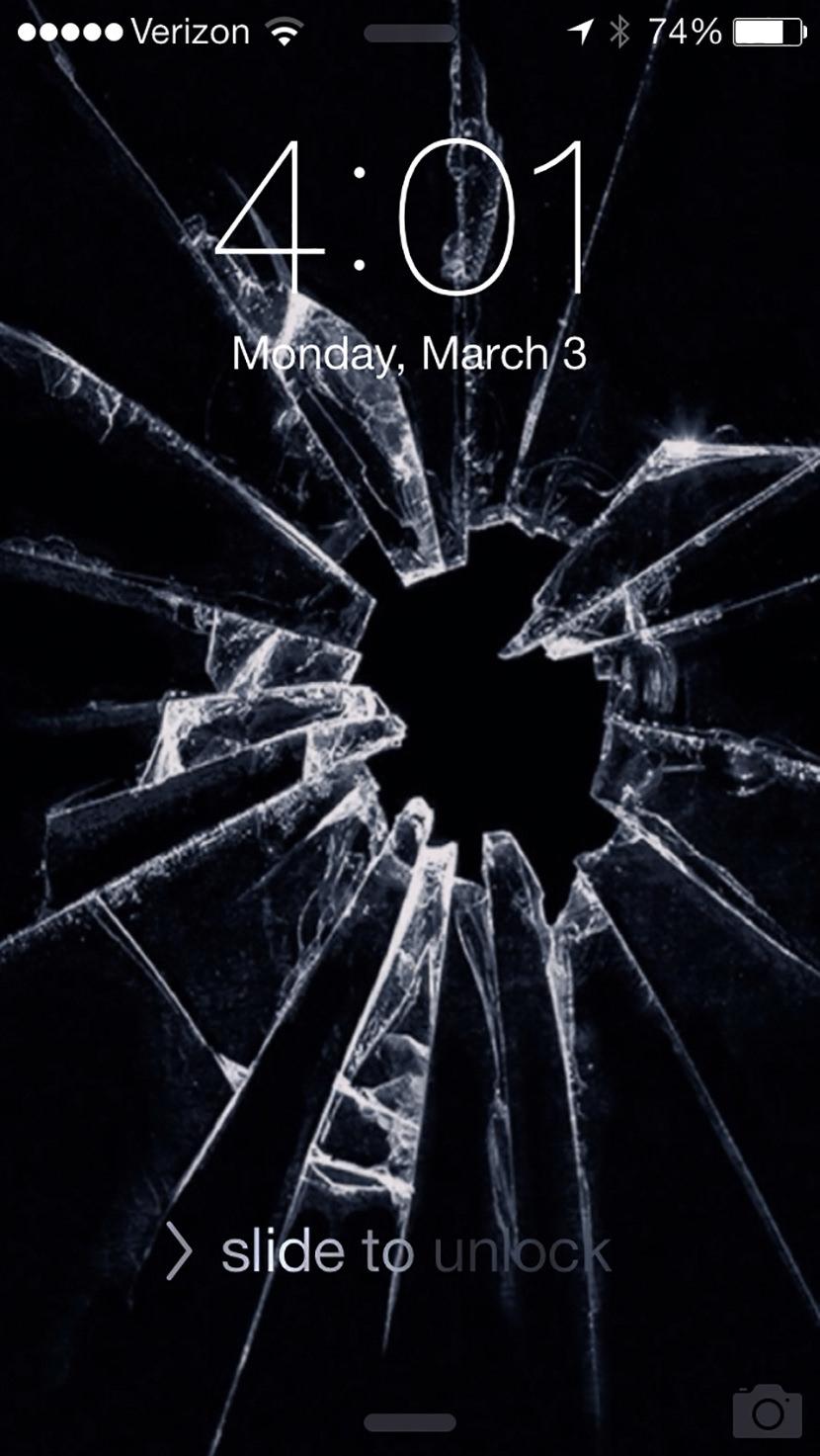7 broken screen wallpapers for apple iphone 5, 6 and 7 - best prank