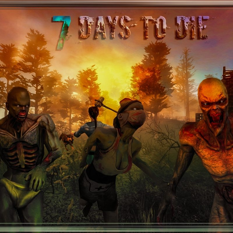 10 Top 7 Days To Die Wallpaper FULL HD 1920×1080 For PC Background 2021 free download 7 days to die wallpaper speedart musikmahi skyline imgur 800x800