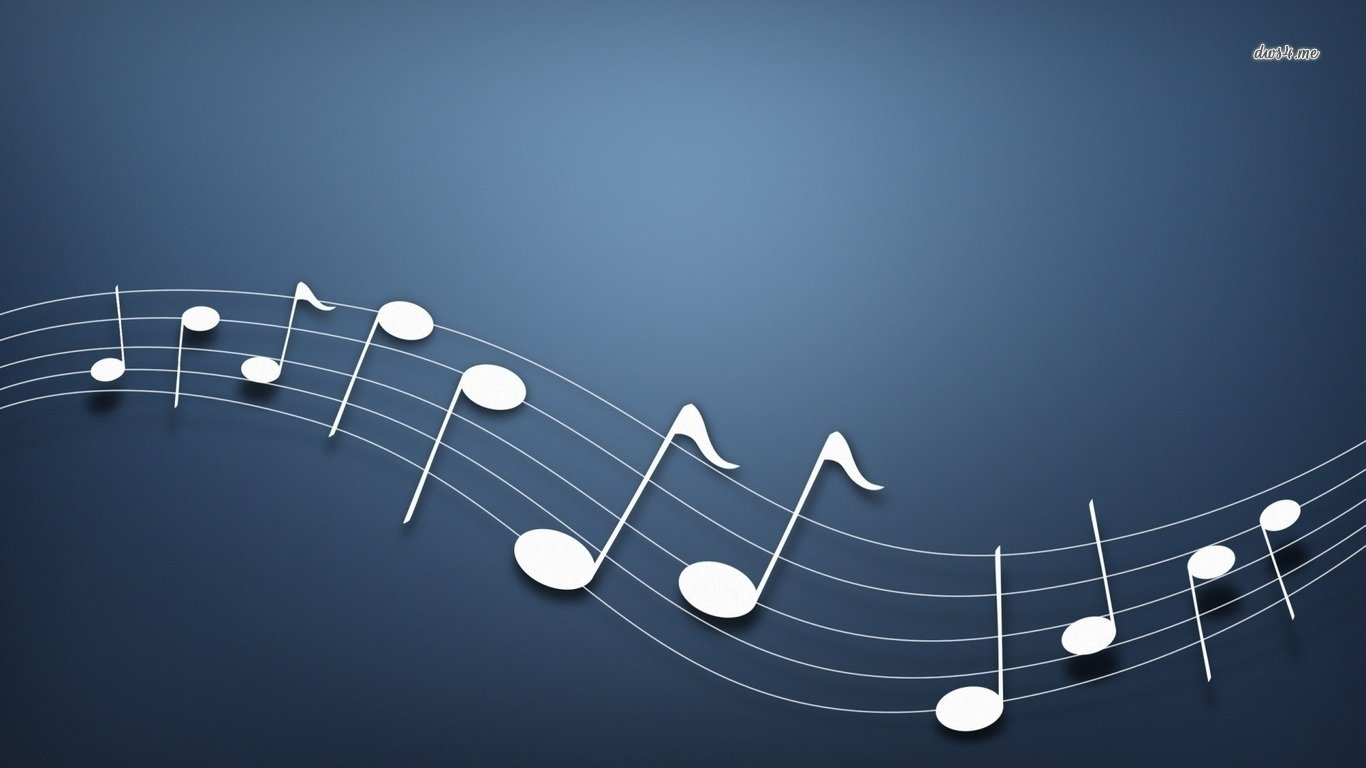 7 musical notes hd wallpapers | background images - wallpaper abyss