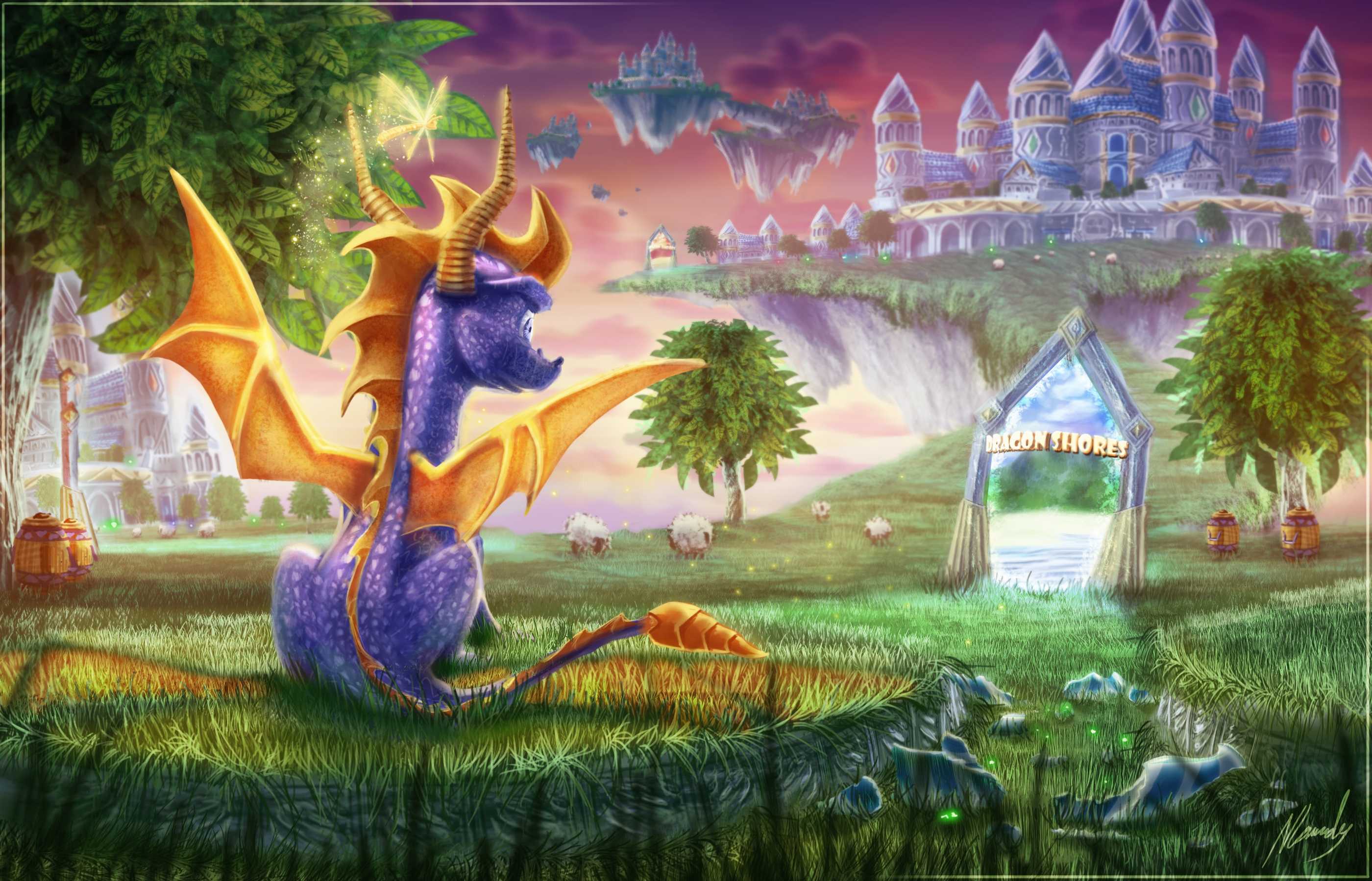 72 spyro the dragon hd wallpapers | background images - wallpaper abyss