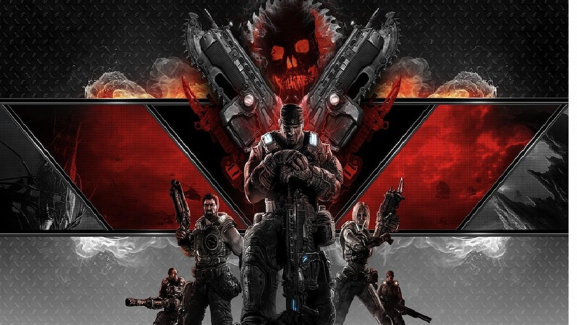 73 gears of war 3 hd wallpapers | background images - wallpaper abyss