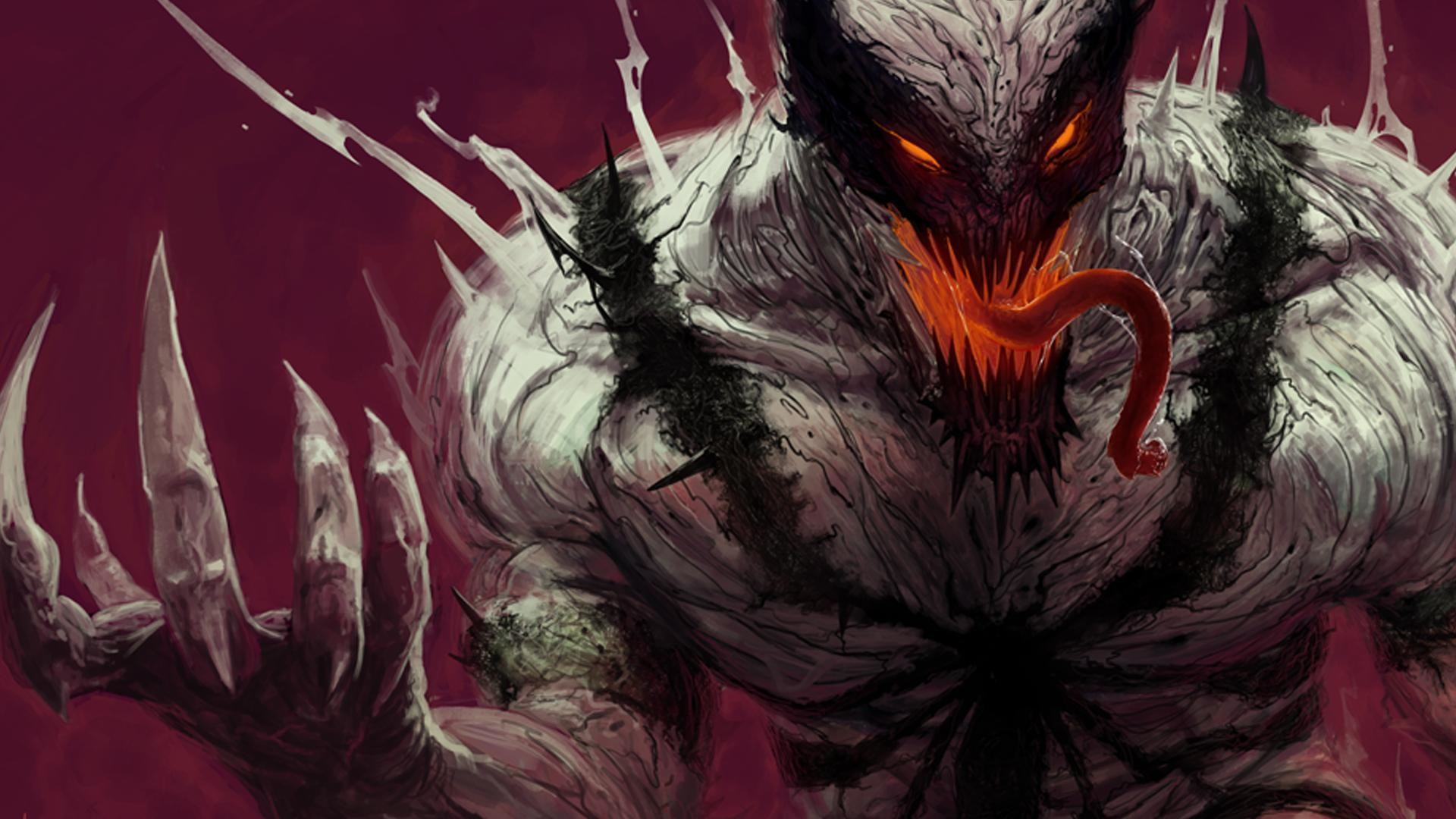 75+ anti venom wallpapers on wallpaperplay