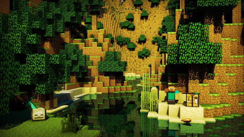 10 Best Cool Minecraft Wallpaper FULL HD 1080p For PC Background 2018 free download 75 minecraft background wallpapers on wallpaperplay 1 800x450