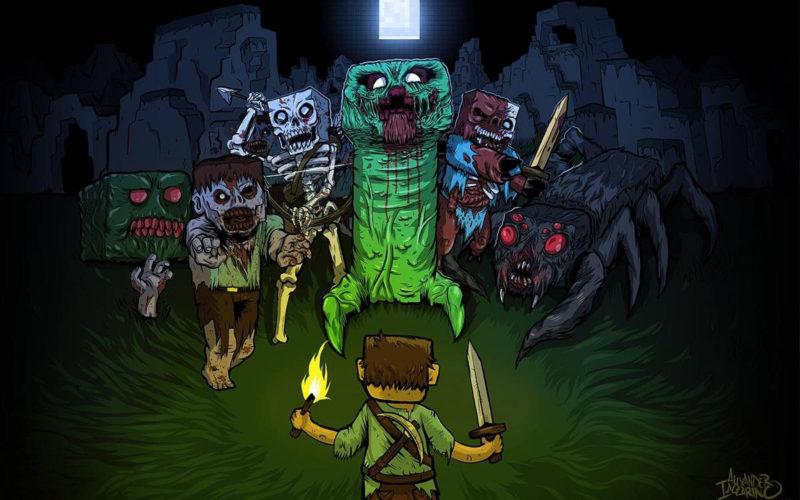 10 Best Cool Minecraft Wallpaper FULL HD 1080p For PC Background 2018 free download 75 minecraft background wallpapers on wallpaperplay 800x500