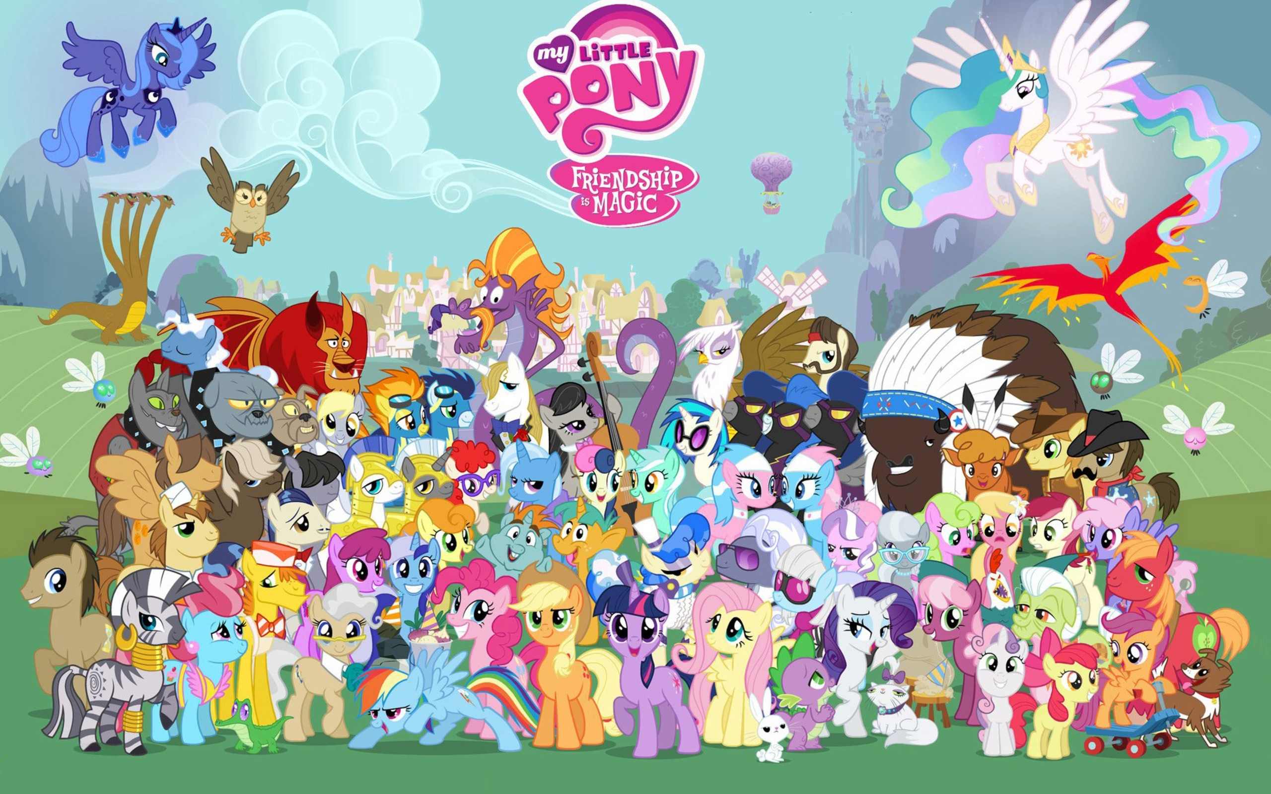762 my little pony: friendship is magic hd wallpapers | background
